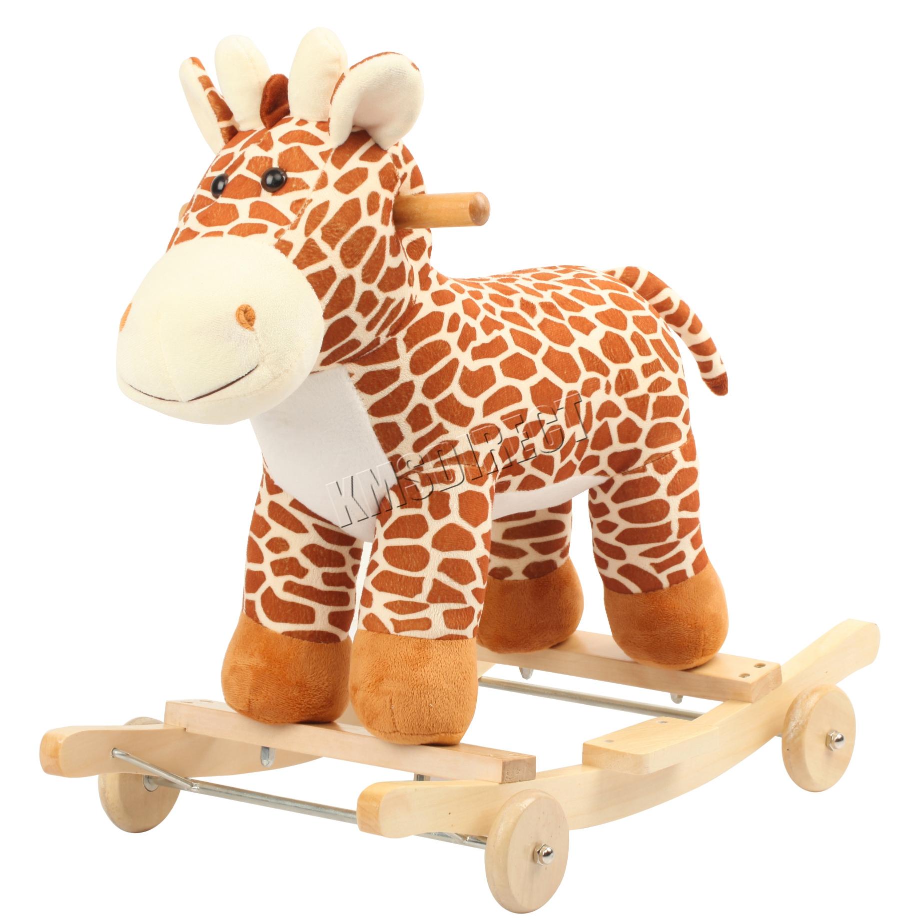 foxhunter animal rocker baby kids rocking infant toddler children toy giraffe ebay. Black Bedroom Furniture Sets. Home Design Ideas