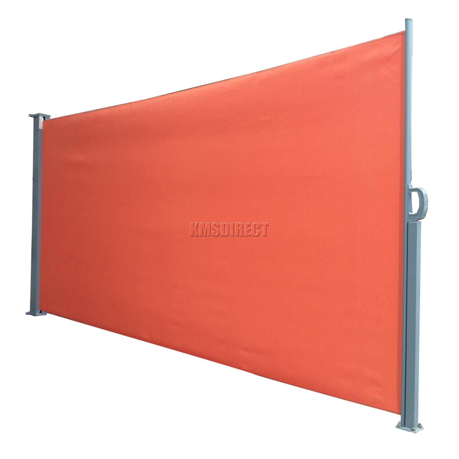 centinela foxhunter jardn patio parasol ciegos retrctil lateral toldo exterior pantalla nuevo