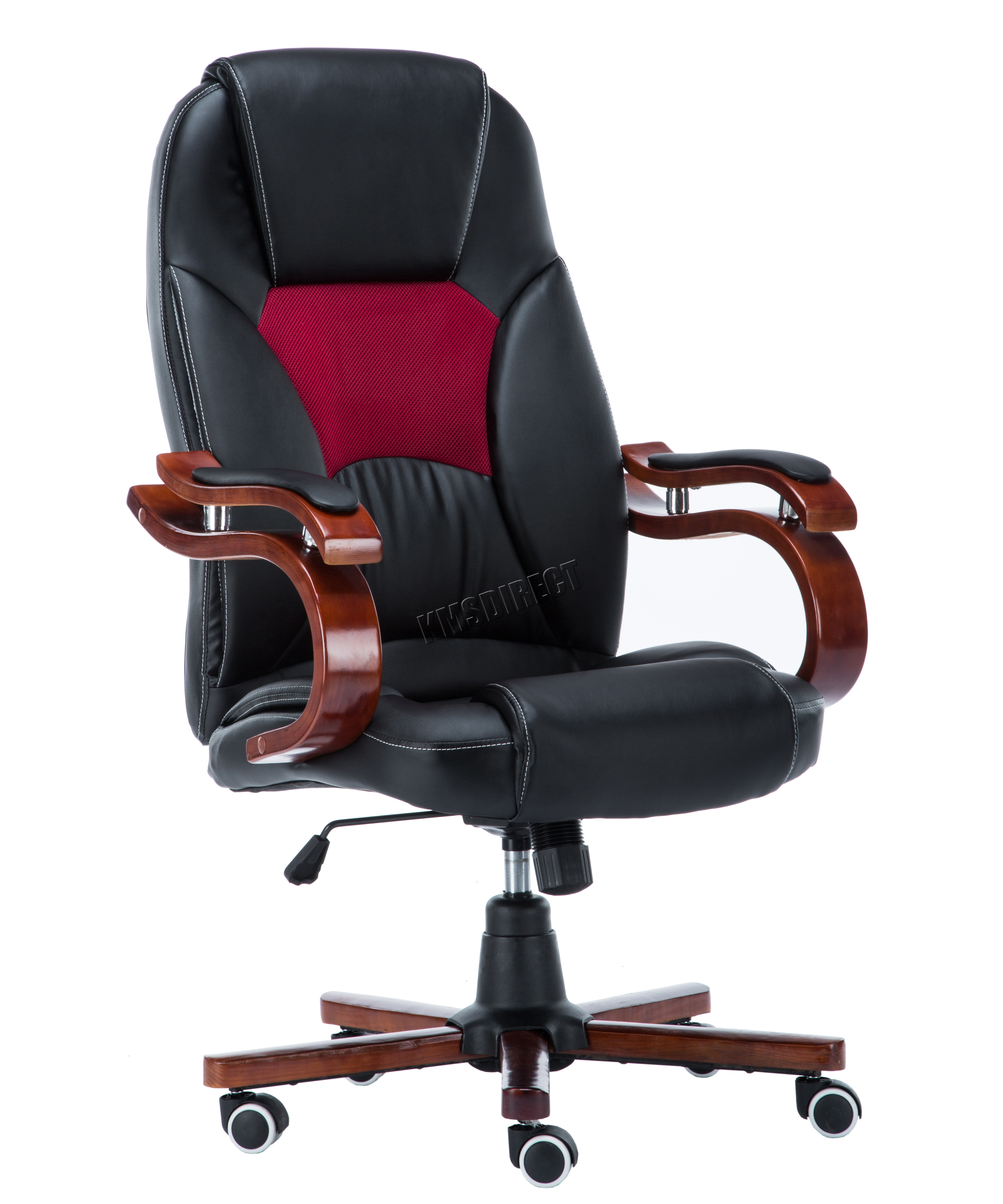 Foxhunter Computer Executive Office Desk Chair Pu Leather Swivel