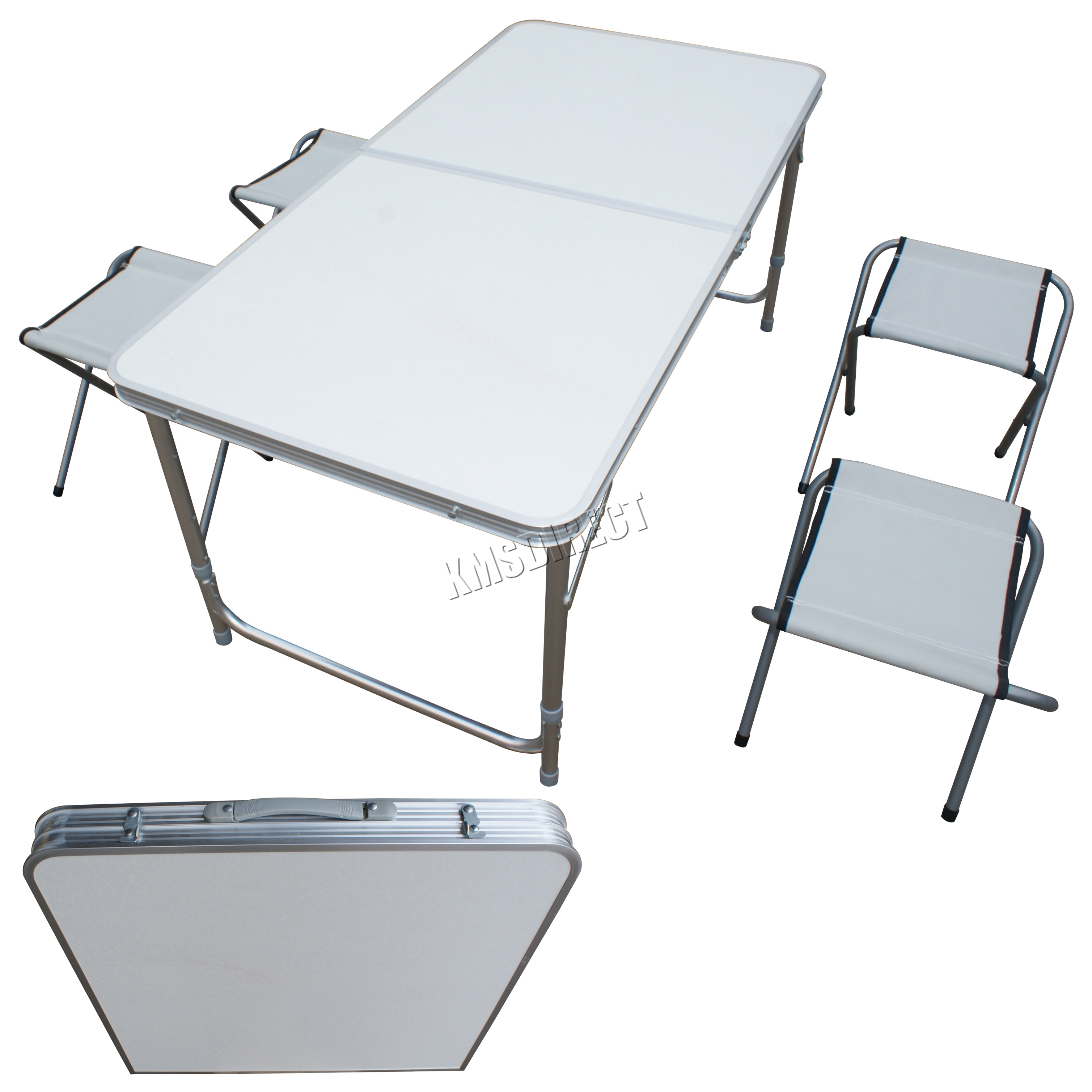 foxhunter jardin camping table pliable portable pique nique dinant l 39 ensemble ebay. Black Bedroom Furniture Sets. Home Design Ideas