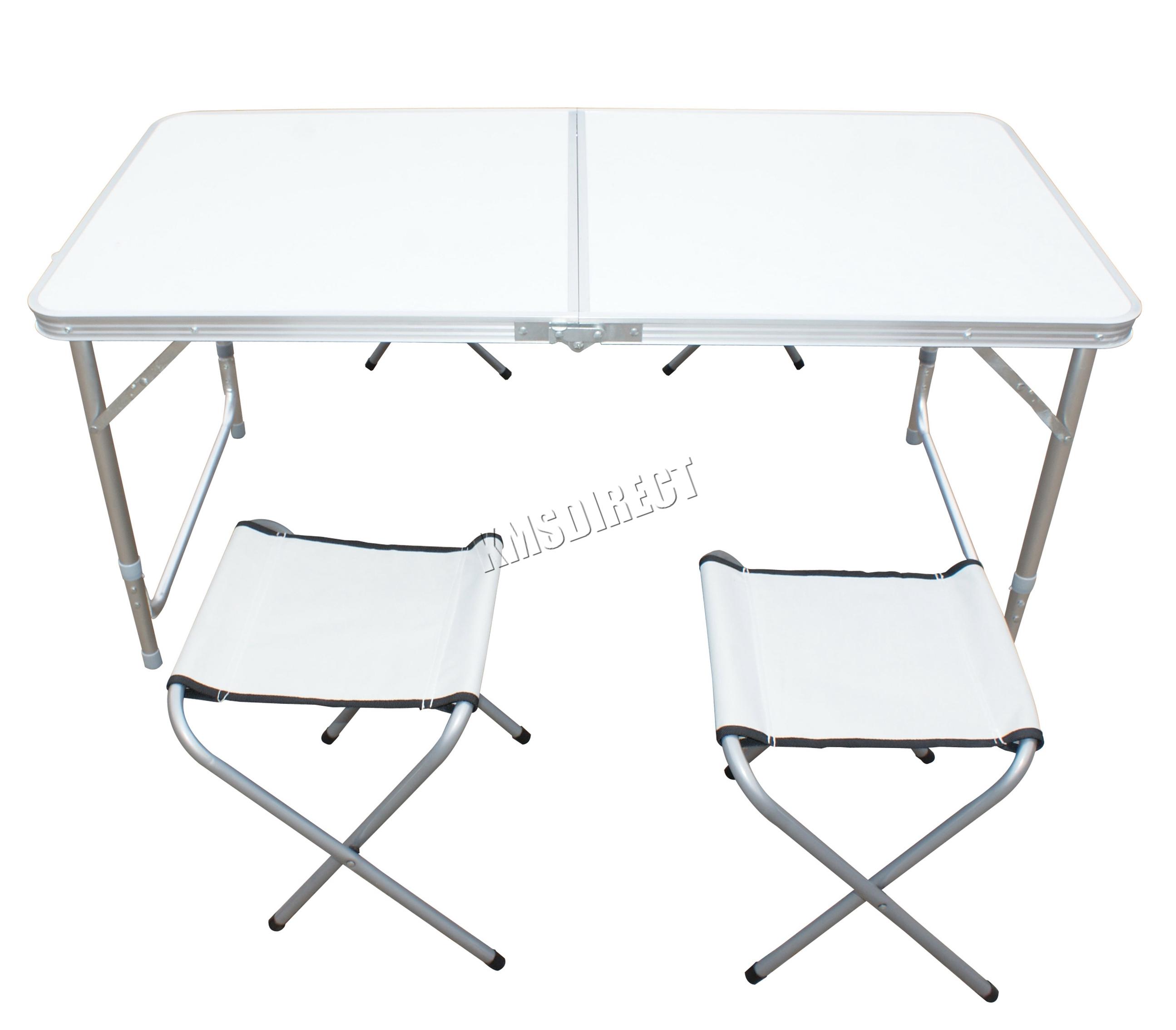 Foxhunter Garden Camping Table Foldable Portable Picnic
