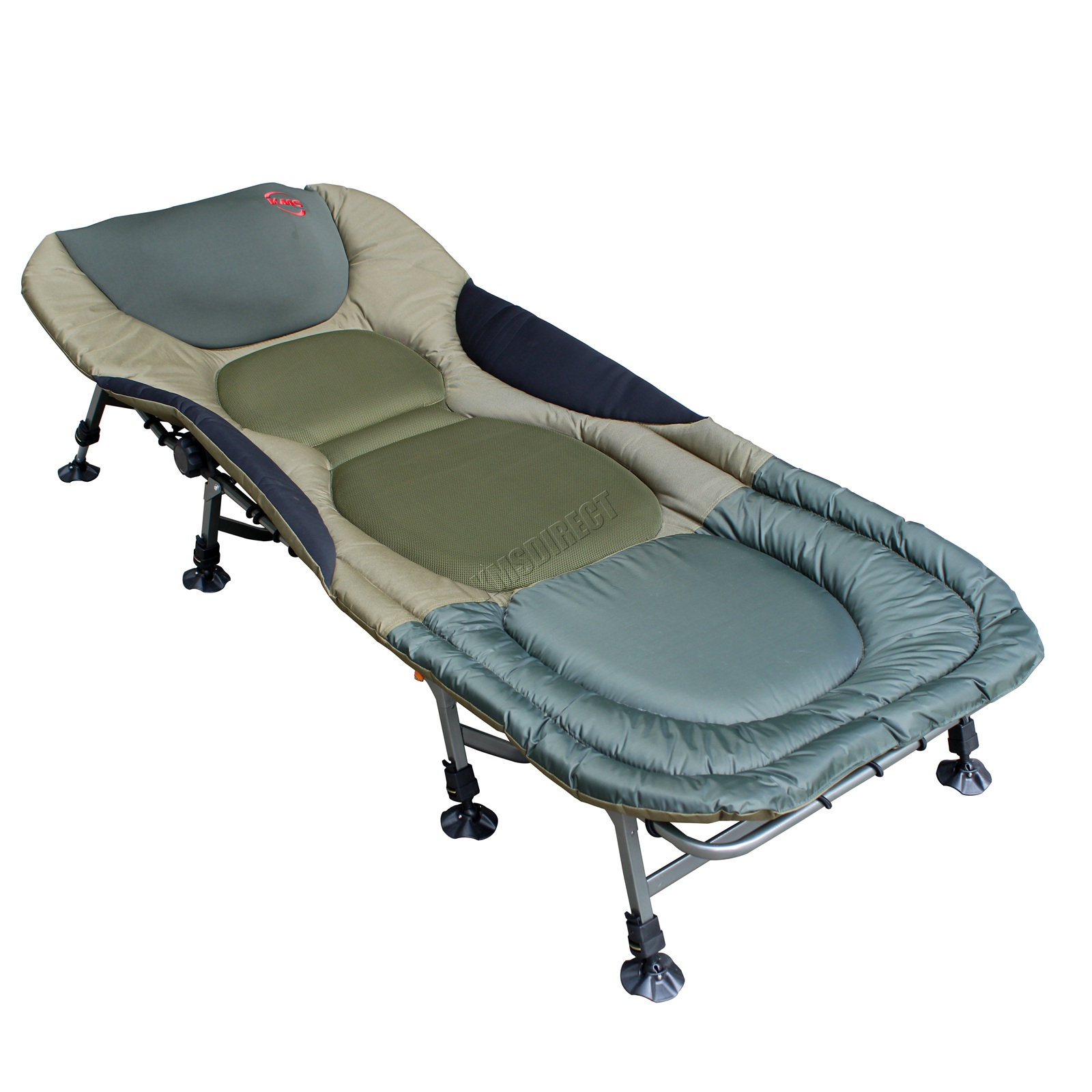 Carp Fishing Bed Chair Bedchair Camping Heavy Duty 8