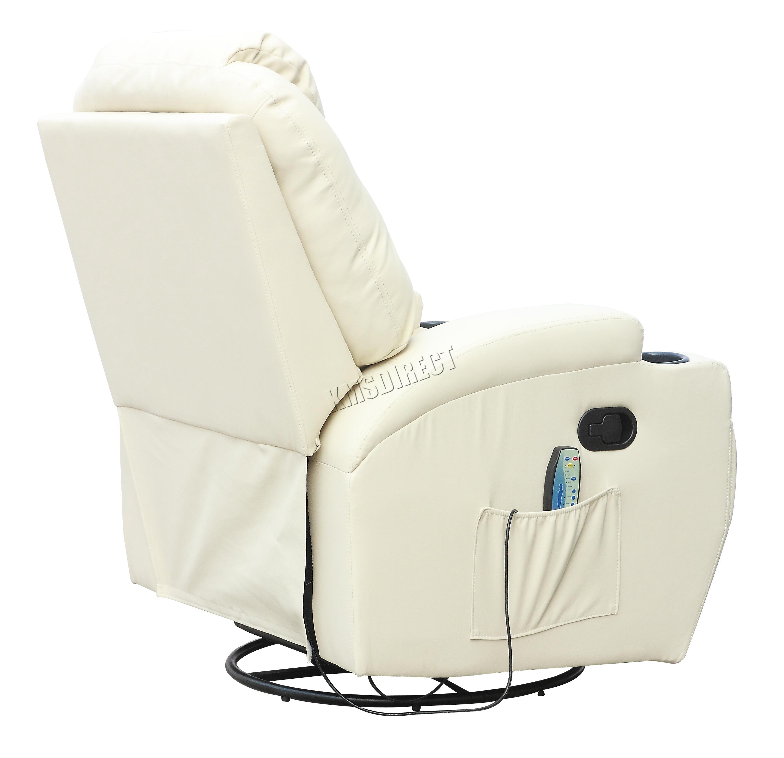 Fantástico Sillones Reclinables De Cuero Con Muebles Massageheat ...