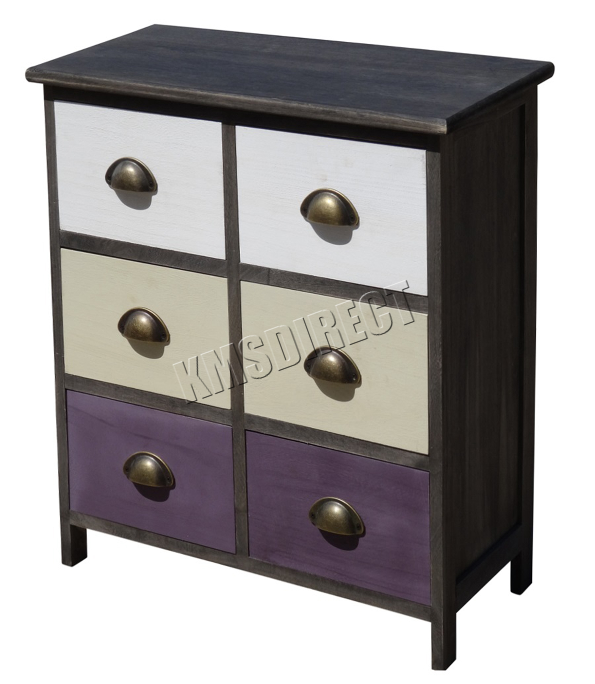 Wonderful image of FoxHunter Wooden Cabinet Chest With 6 Drawers Storage Cupboard Unit  with #777054 color and 2000x2300 pixels