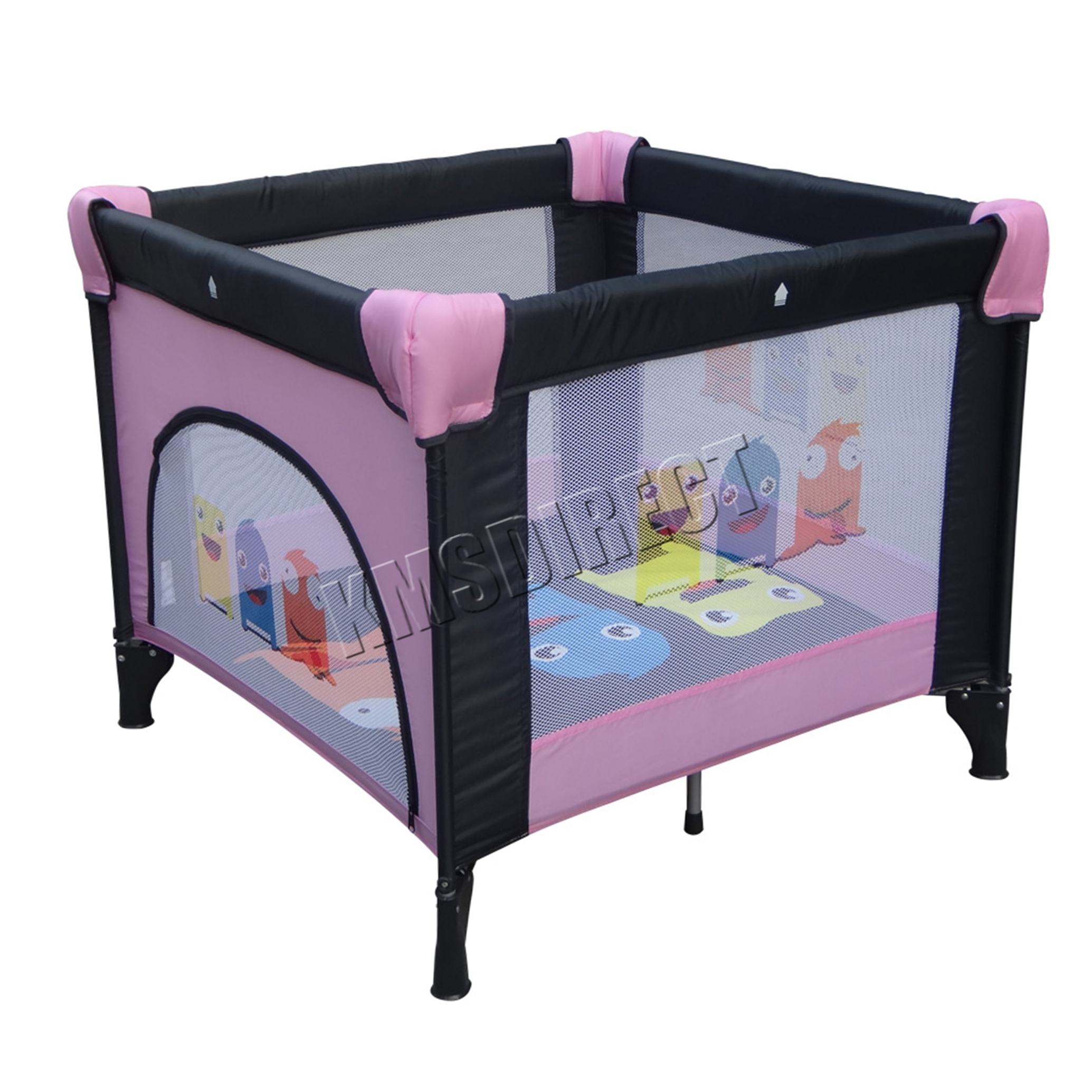 playpens for baby baby playpens feb c  bd  - foxhunter baby travel playpen infant square cot bed play pen