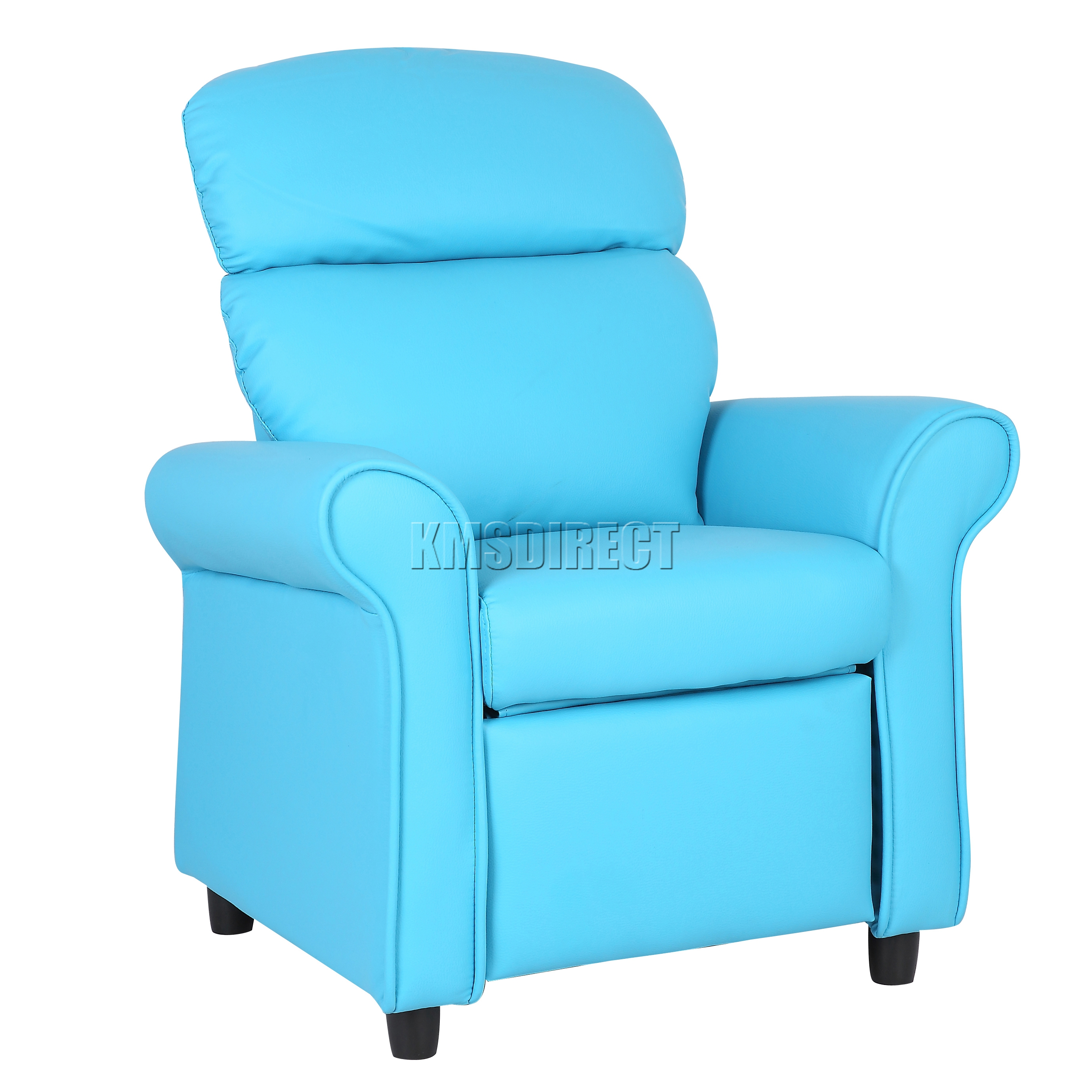 Foxhunter kids recliner armchair games chair sofa children for Toddler leather chair