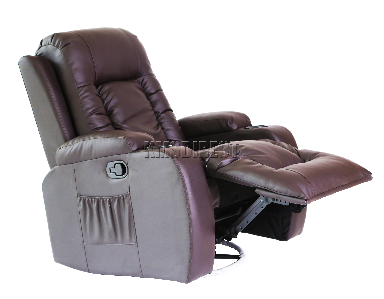 Riparo in pelle cinema massaggio divano reclinabile sedia for Sedia a dondolo in pelle