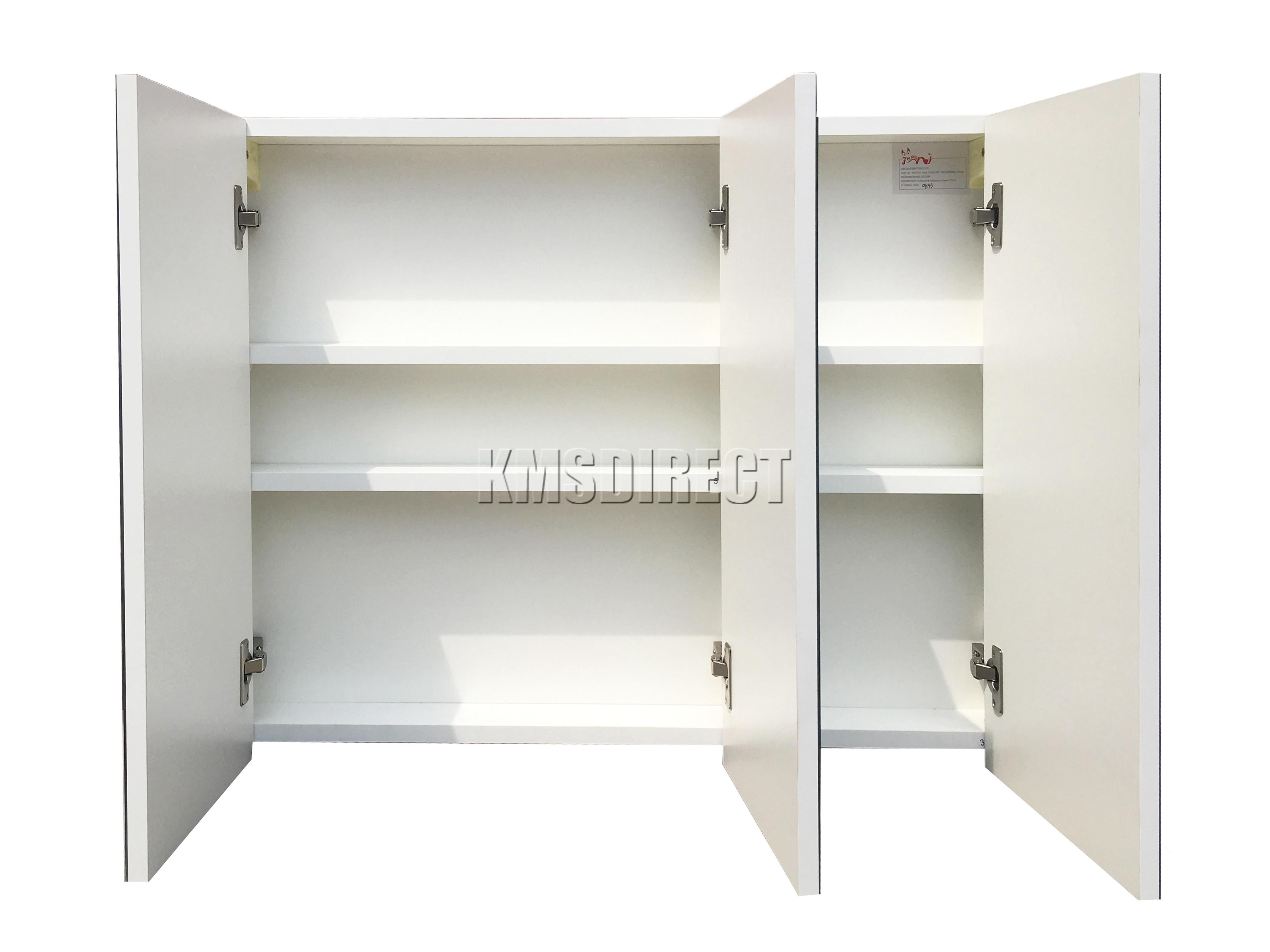 foxhunter wall mount mirror bathroom cabinet unit storage. Black Bedroom Furniture Sets. Home Design Ideas