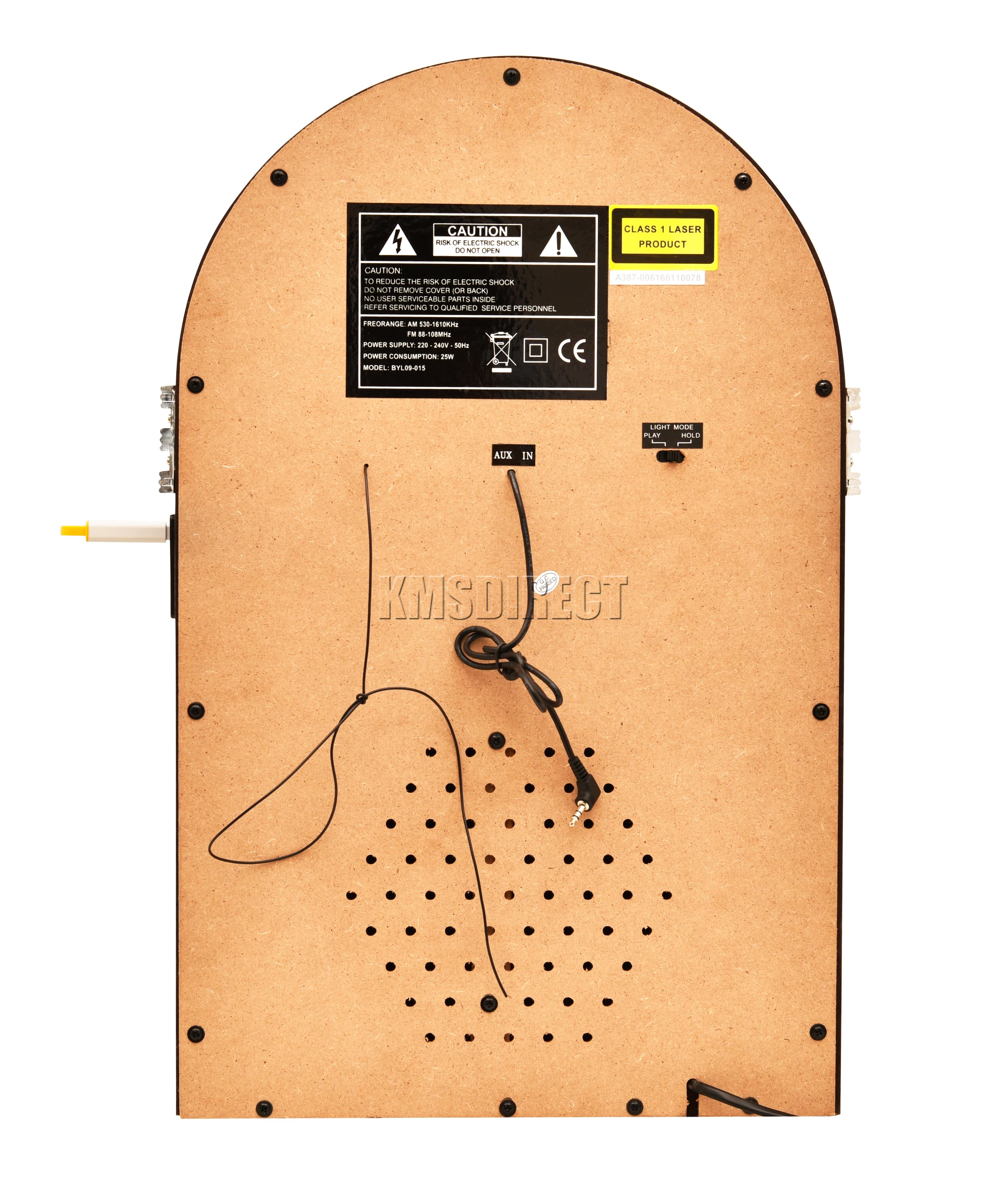 foxhunter jukebox stereo mp3 cd player usb aux sd fm radio. Black Bedroom Furniture Sets. Home Design Ideas