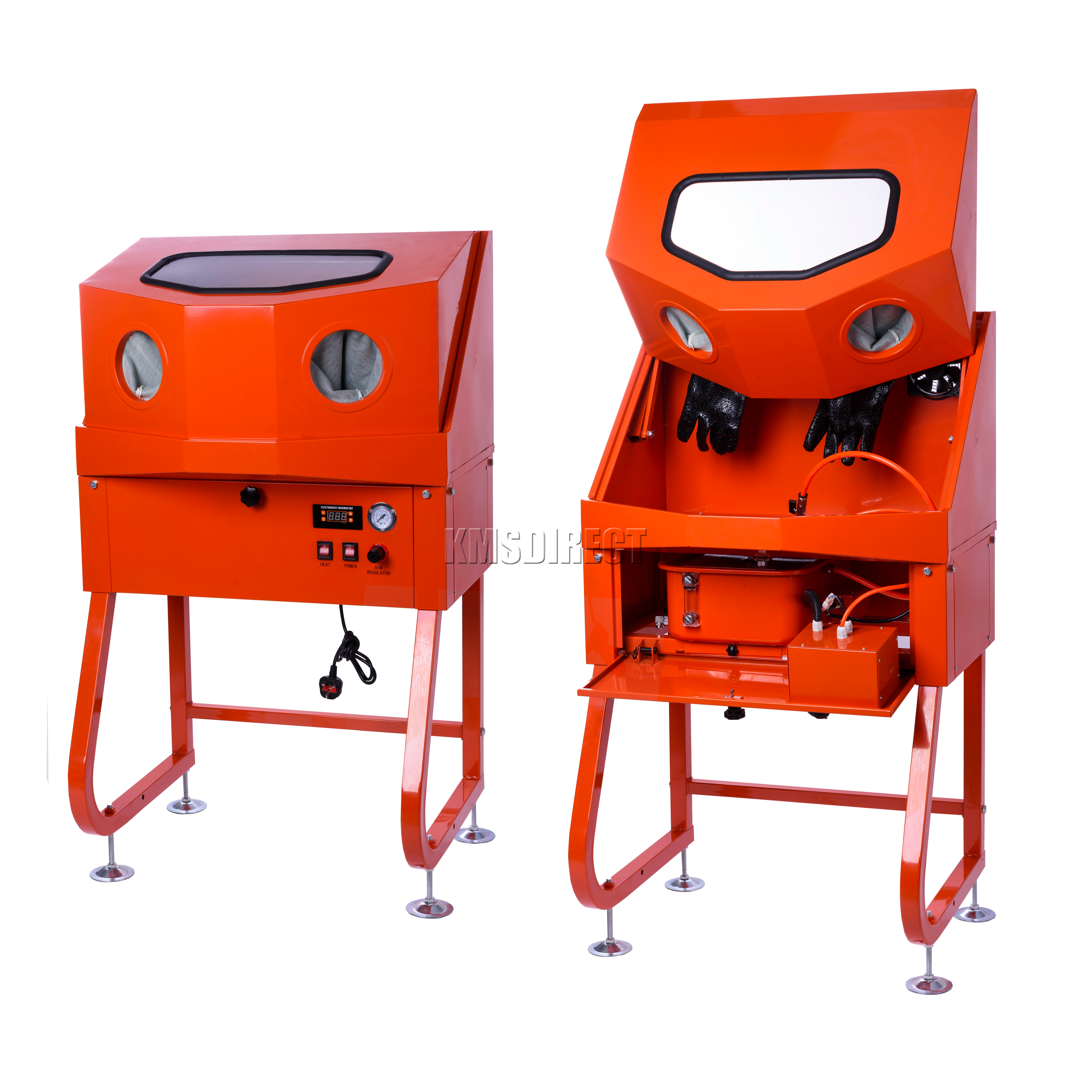 Foxhunter Enclosed Parts Washer With Auxiliary Heating