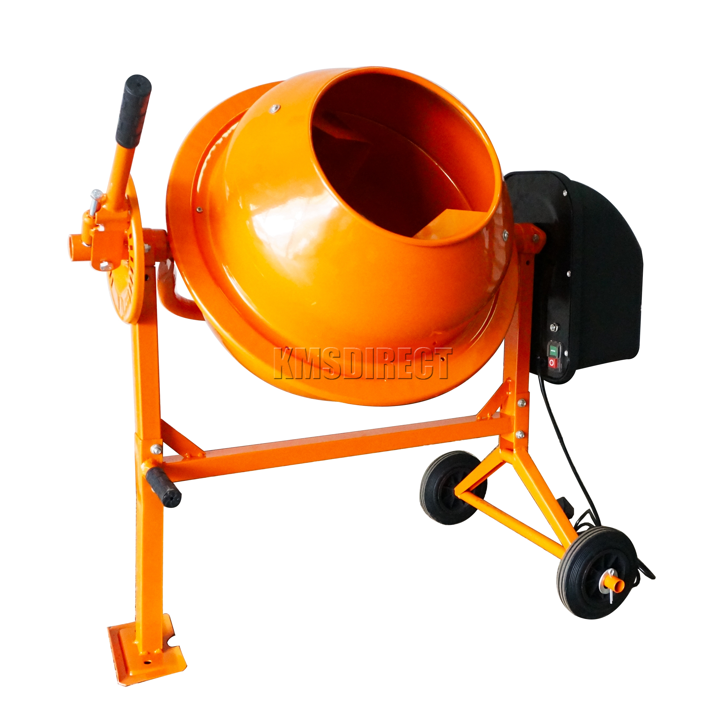 Cement Mixer Blades : Foxhunter w electric concrete cement mixer mortar