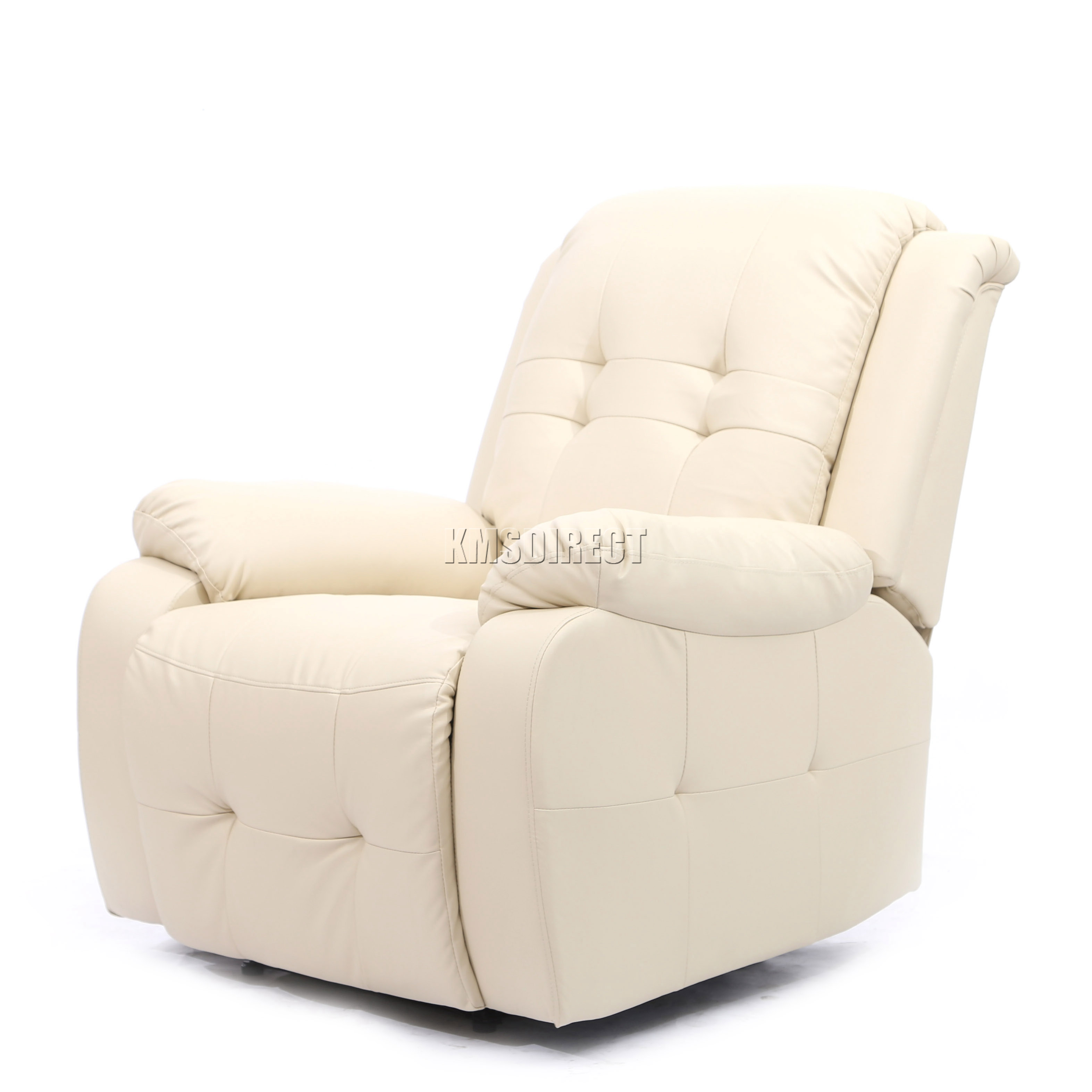 Foxhunter luxe 1 place cuir cinema fauteuil inclinable for Chaise inclinable