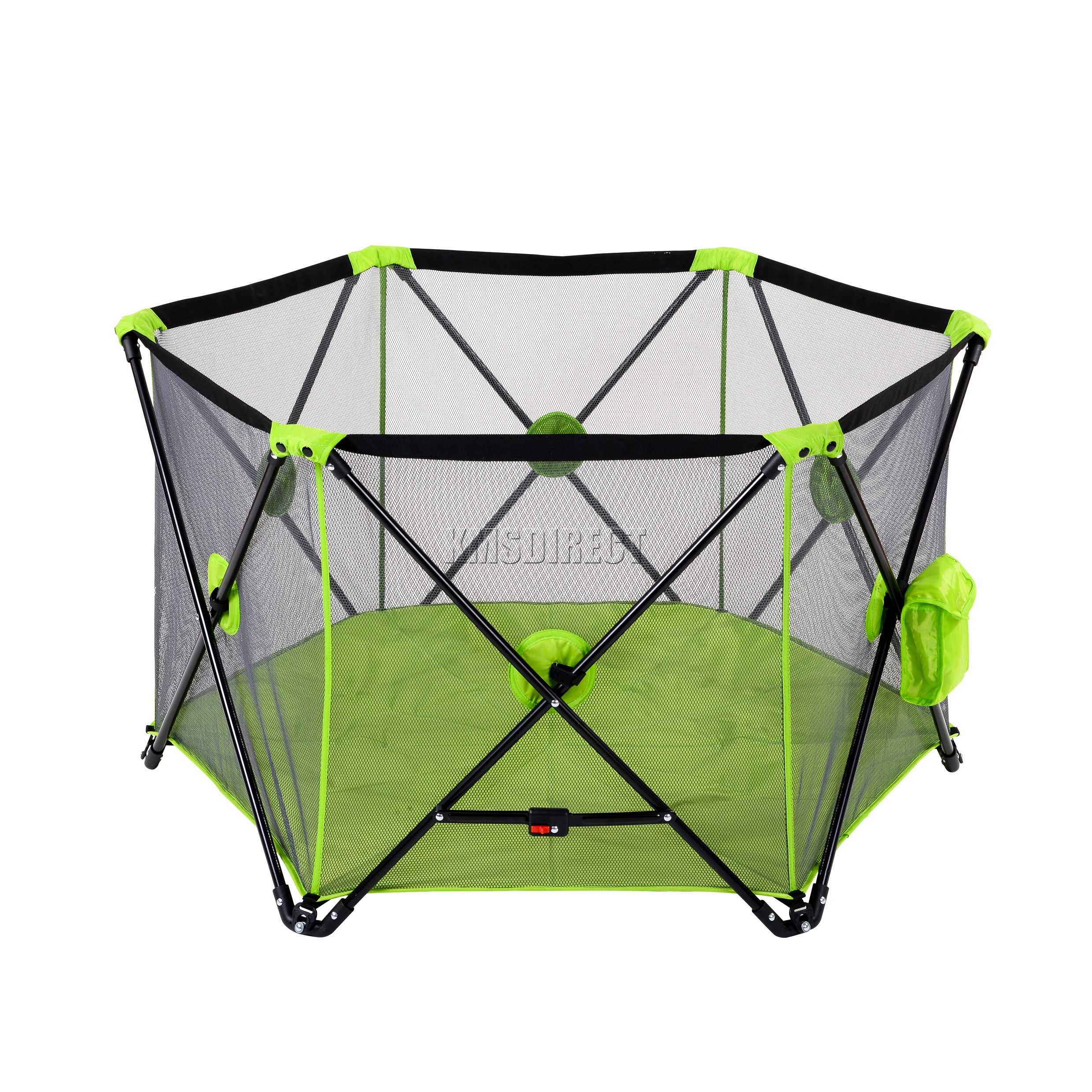 FoxHunter Portable Baby Pop Up Playpen Play Pen Yard 6 Sided With