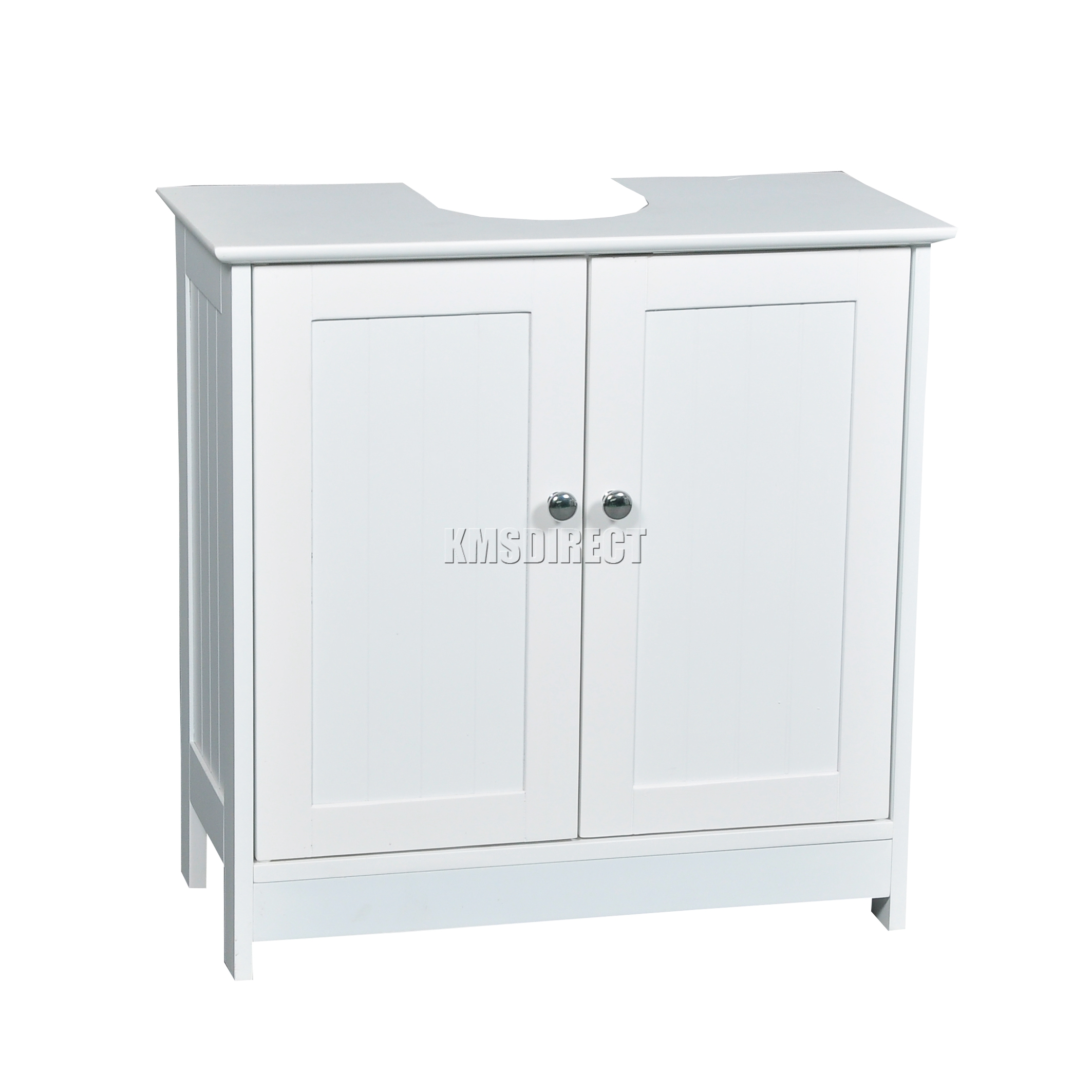Foxhunter vanity unit wooden under sink wash basin - Under sink bathroom storage cabinet ...
