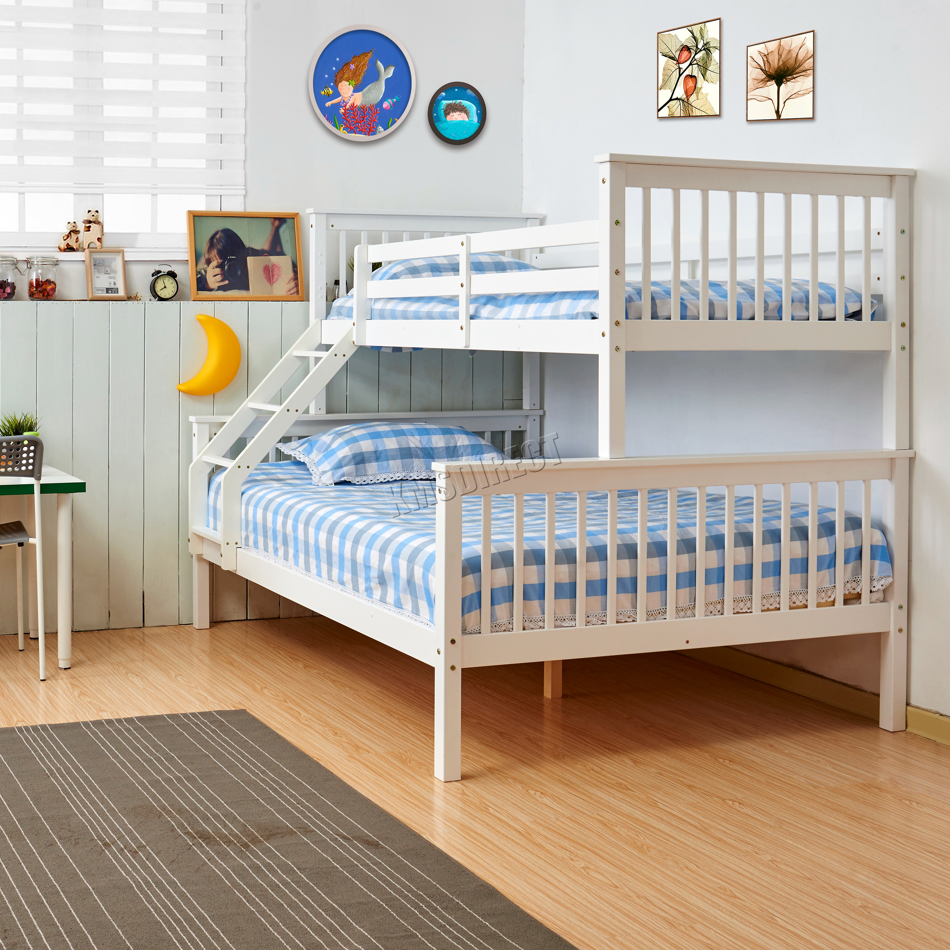 28 triple bunk bed wooden triple bunk beds sonya white wood