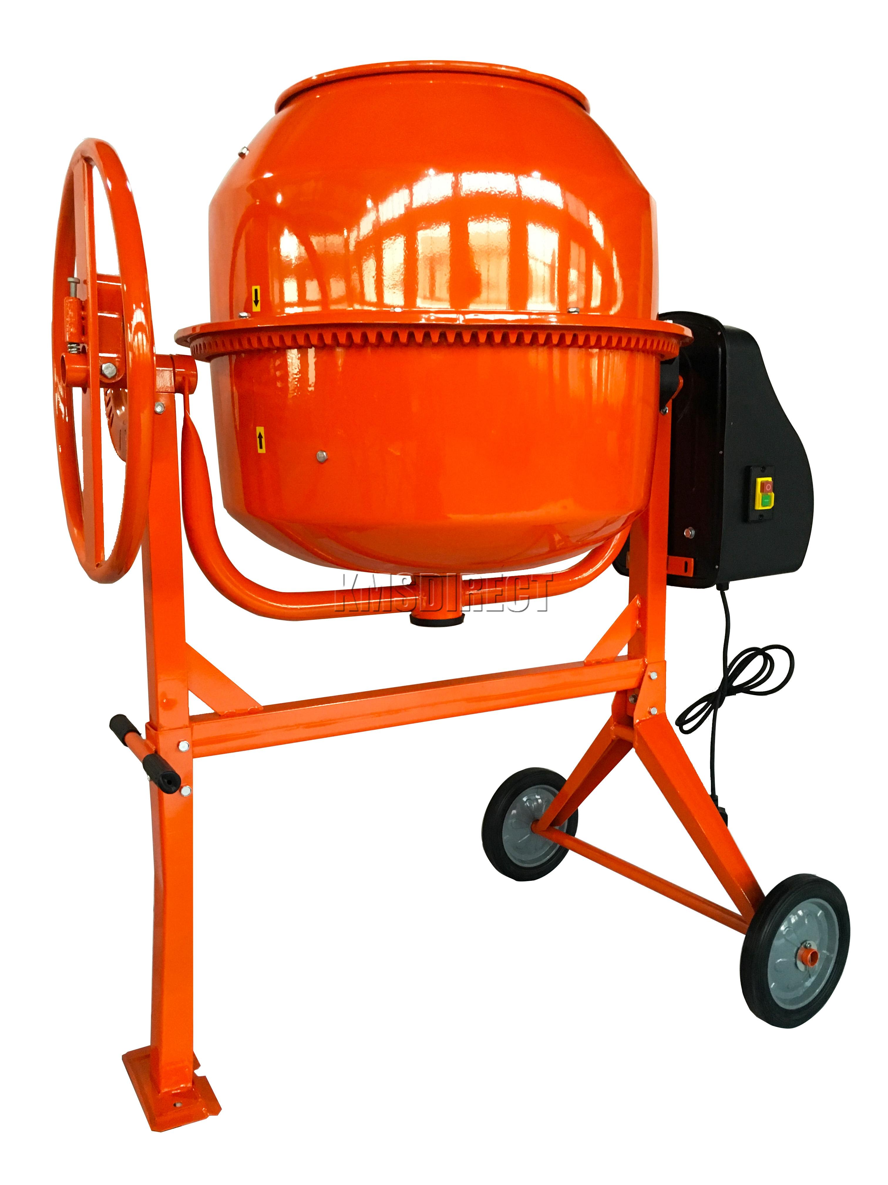 Electric Mortar Mixer ~ Foxhunter w electric concrete cement mixer mortar