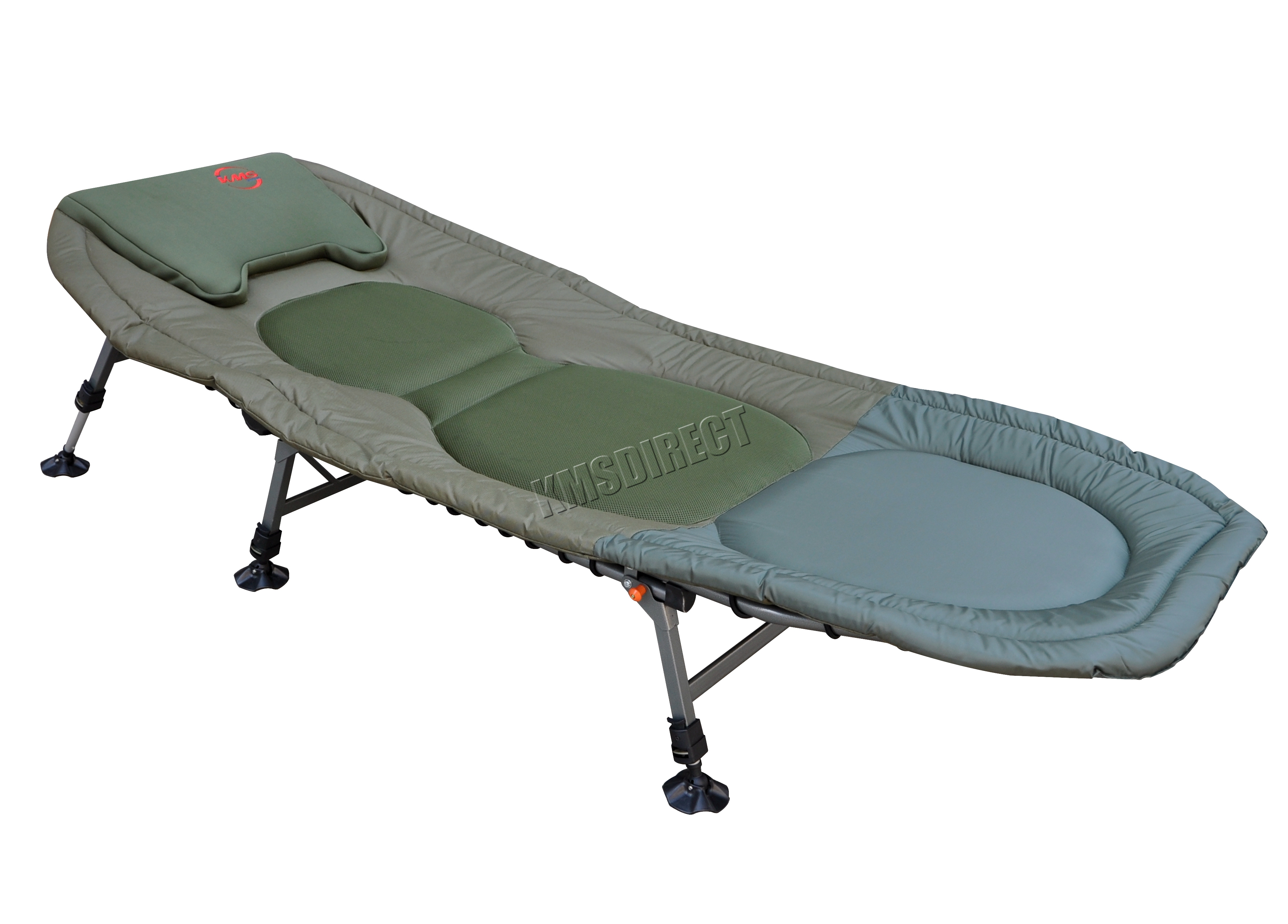 Portable Carp Fishing Bed Chair Bedchair Camping 6