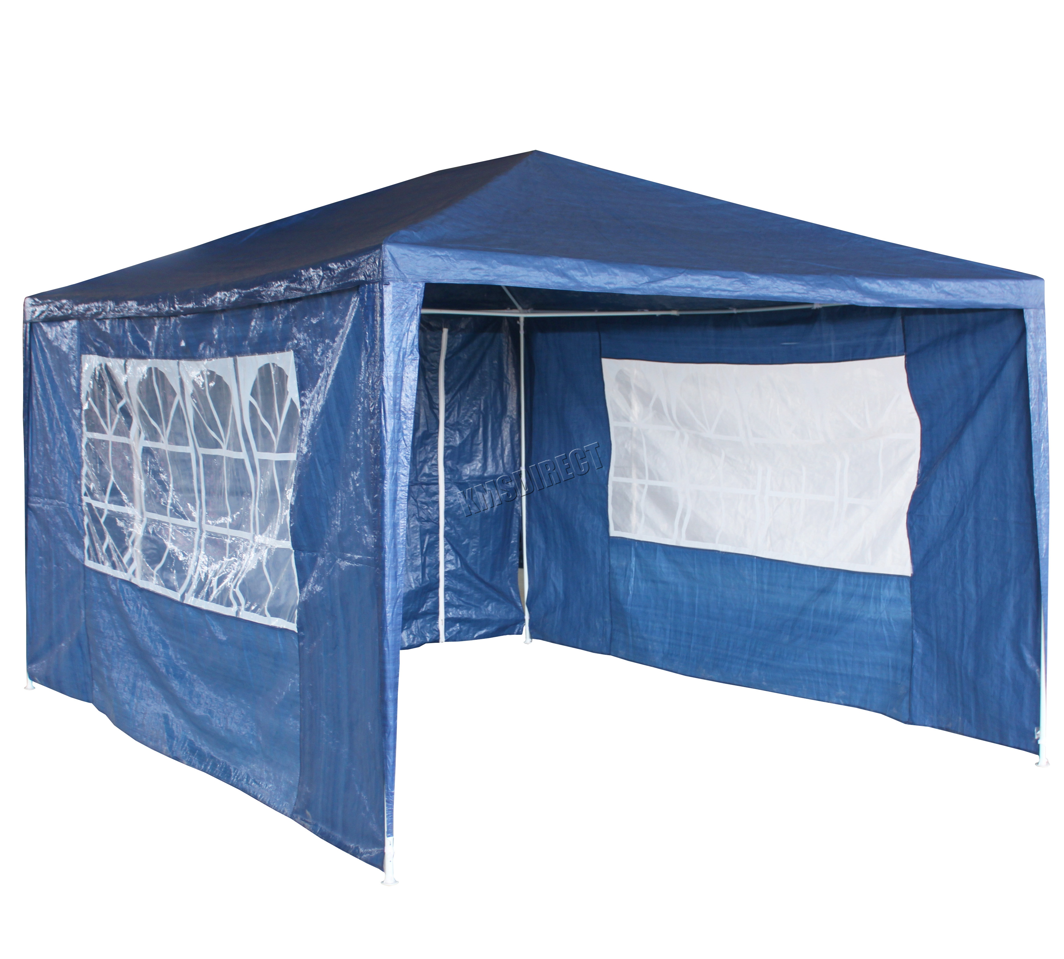 Garden gazebo 3 x 4m - Sentinel Waterproof Blue 3m X 4m Outdoor Garden Gazebo Party Tent Marquee Awning Canopy Sentinel Thumbnail 3