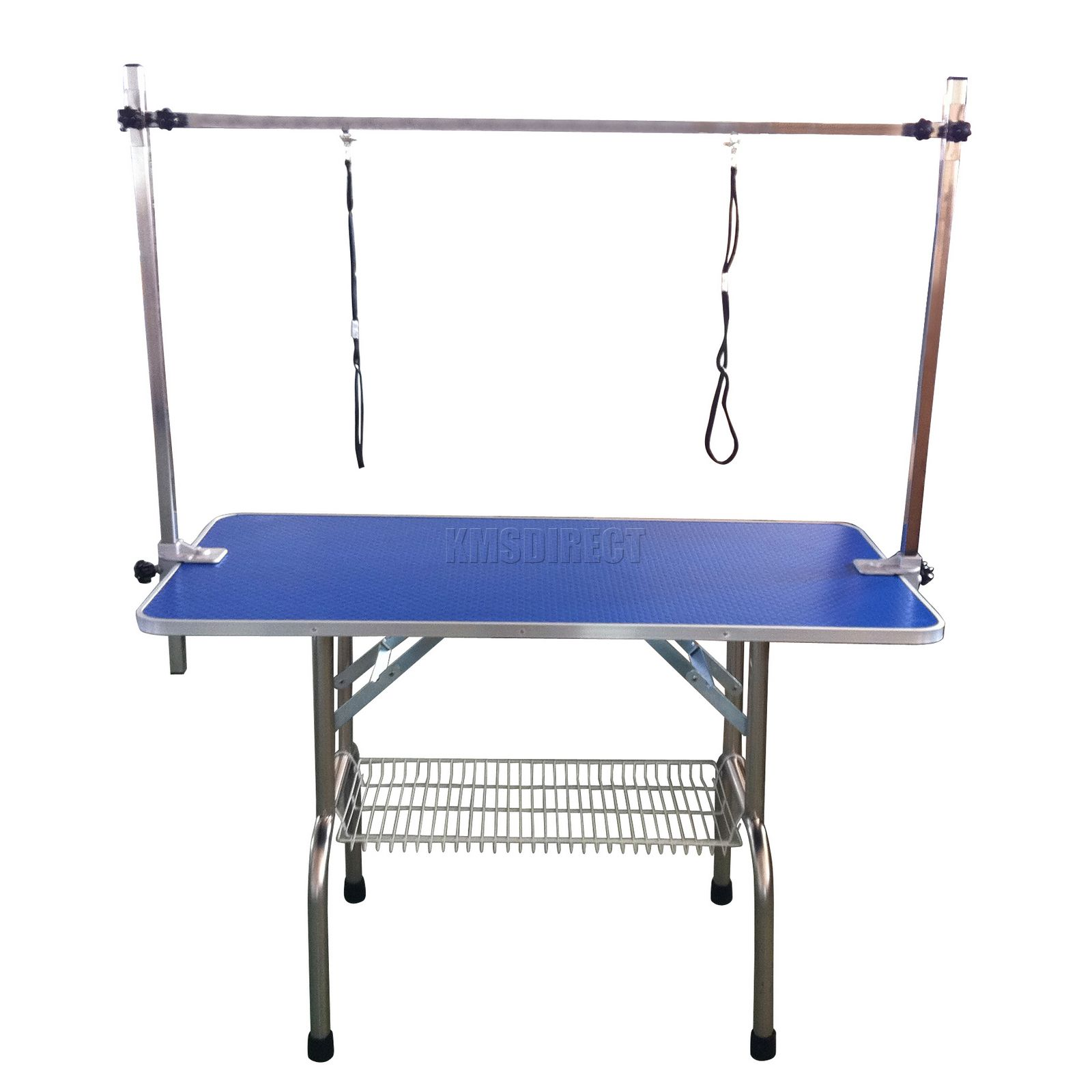 Adjustable Portable Dog Grooming Table Arm Noose 46