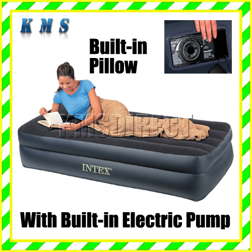 Intex Single Air Bed Airbed Inflatable Mattress 706