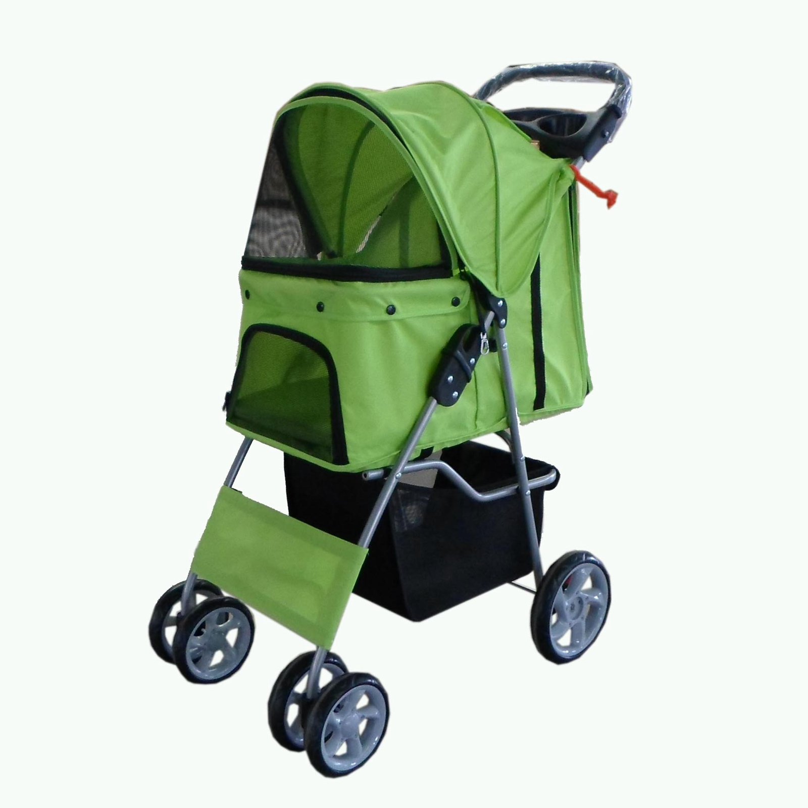 Folding Ultralight Mother child Pet Stroller/Dual Layers