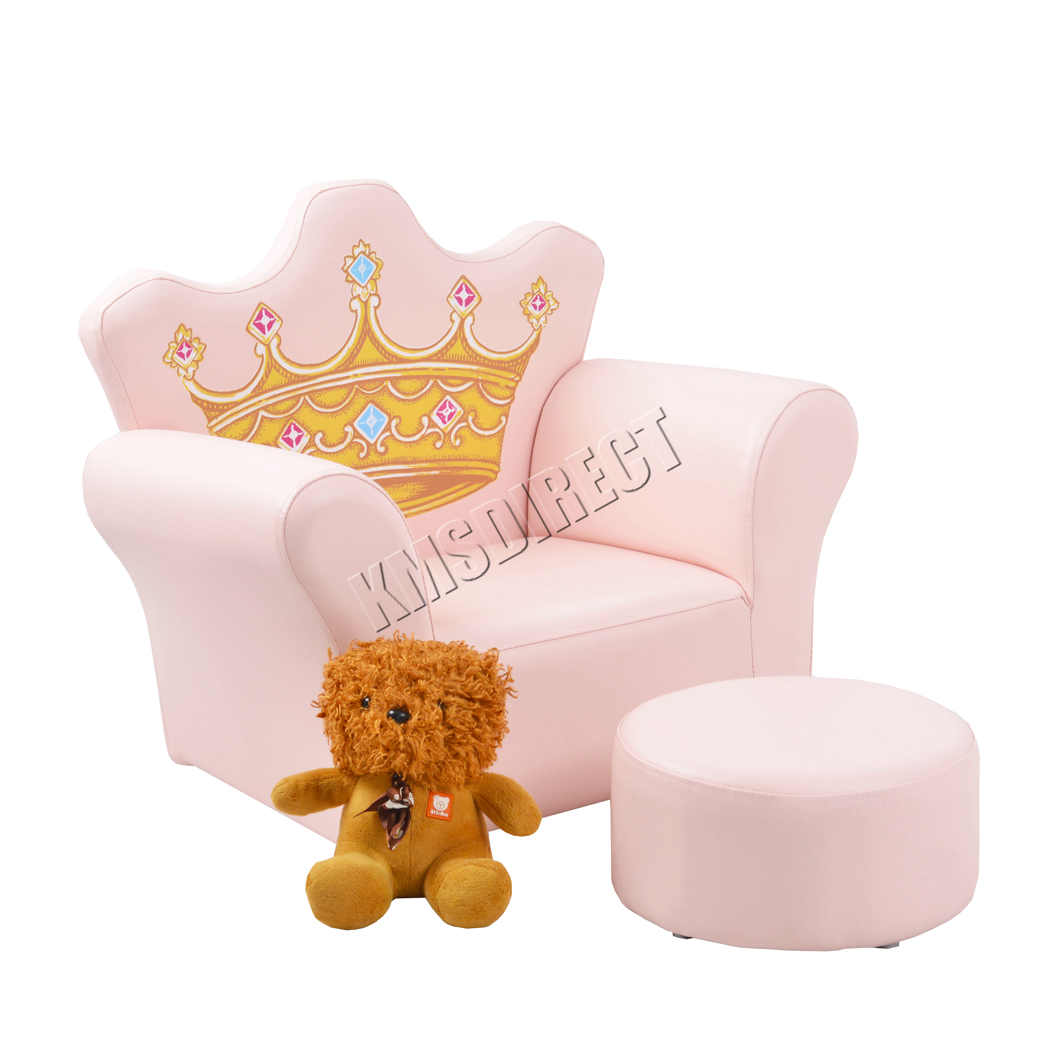 Foxhunter kids armchair games chair boys girls sofa for Childrens armchair and footstool