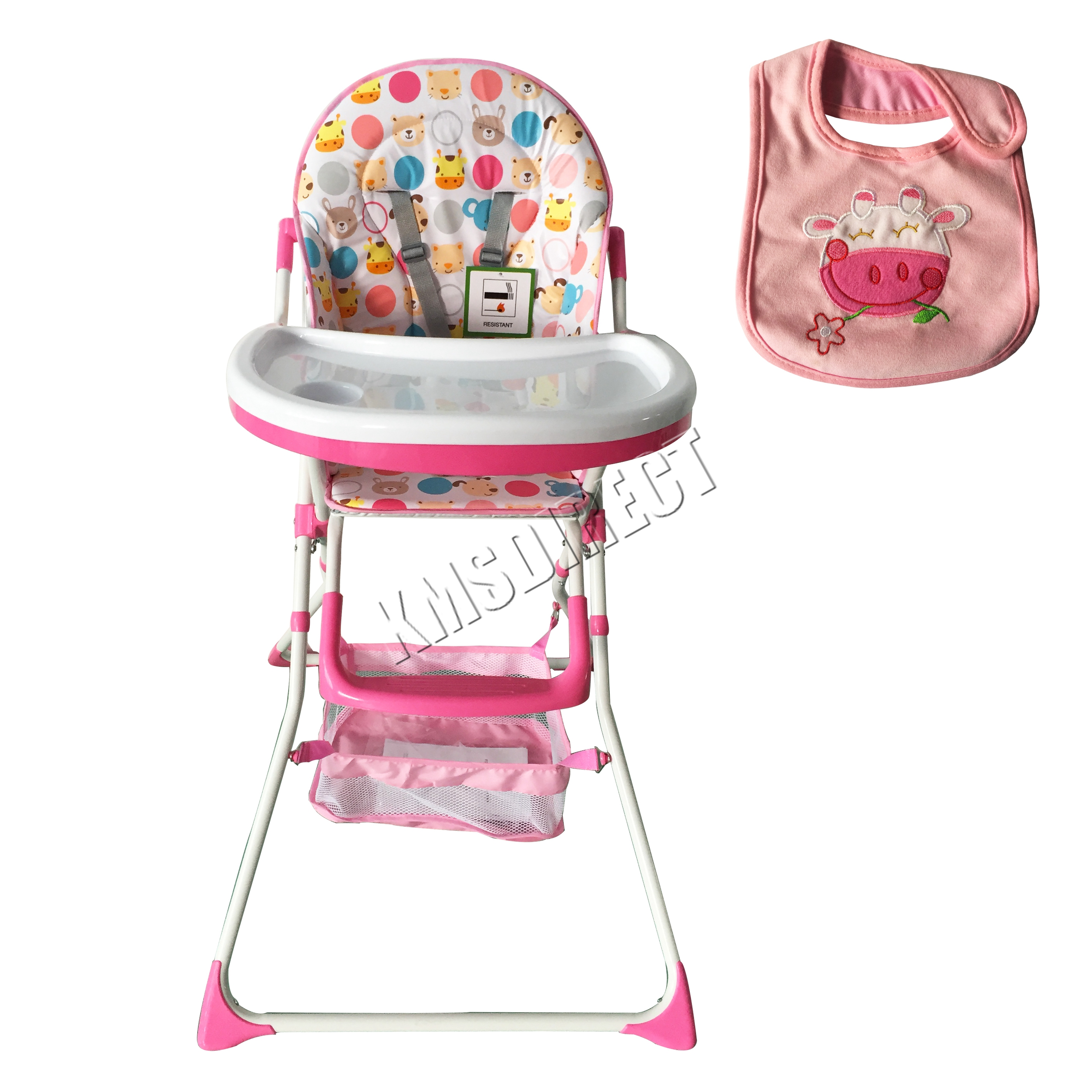 FoxHunter Portable Baby High Chair Infant Child Folding