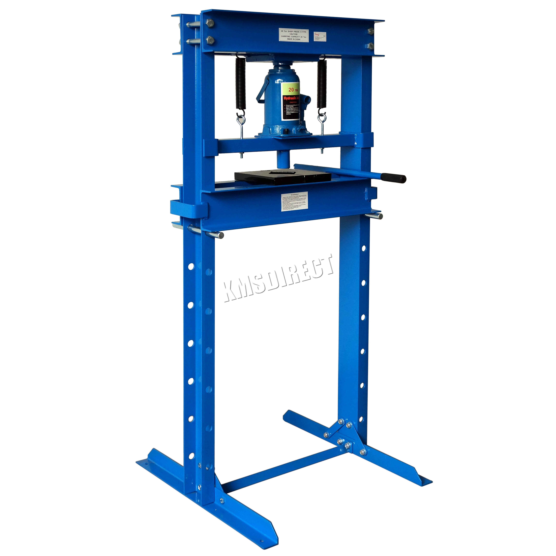 Foxhunter 20 Ton Hydraulic Garage Workshop Shop Press