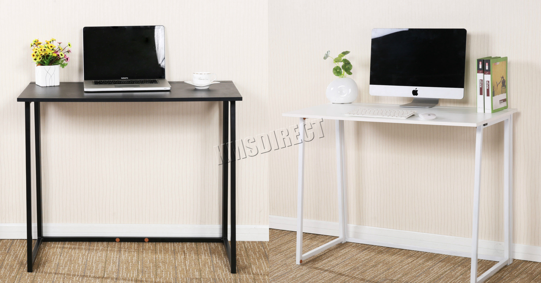 Foxhunter pliable ordinateur bureau portable table maison tude cd03 ebay - Bureau d etude traduction ...