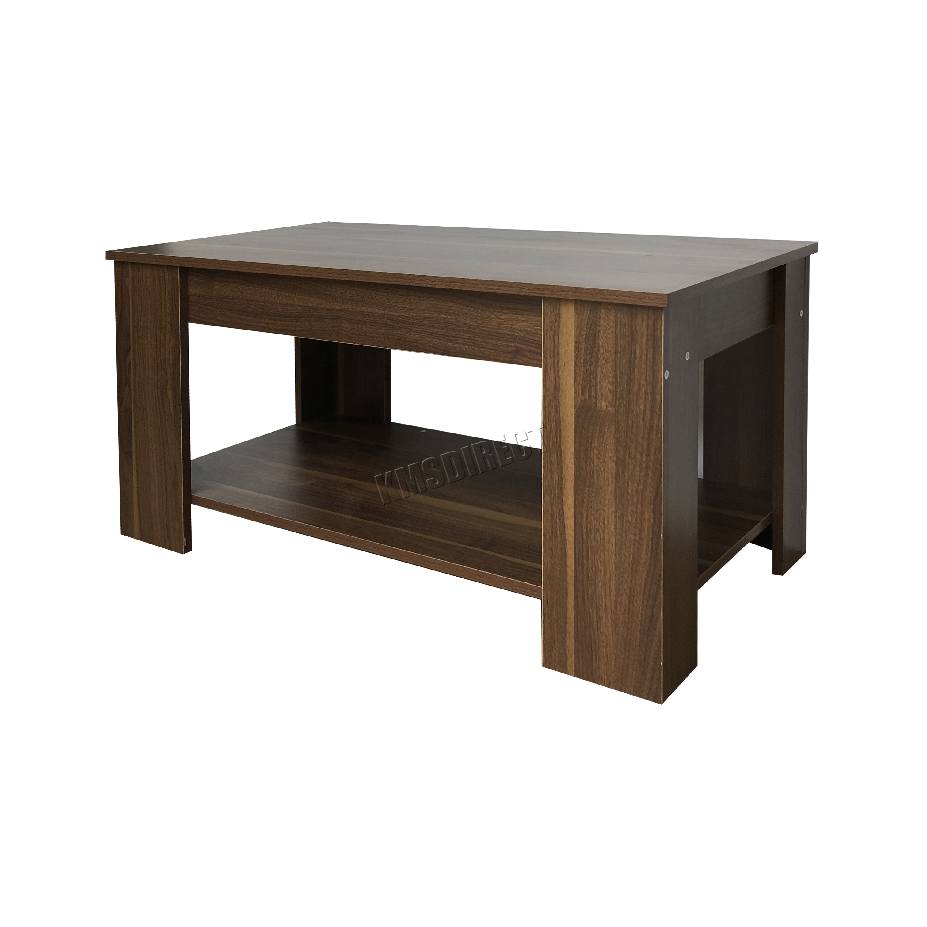 Foxhunter Lift Up Top Coffee Table With Storage Shelf
