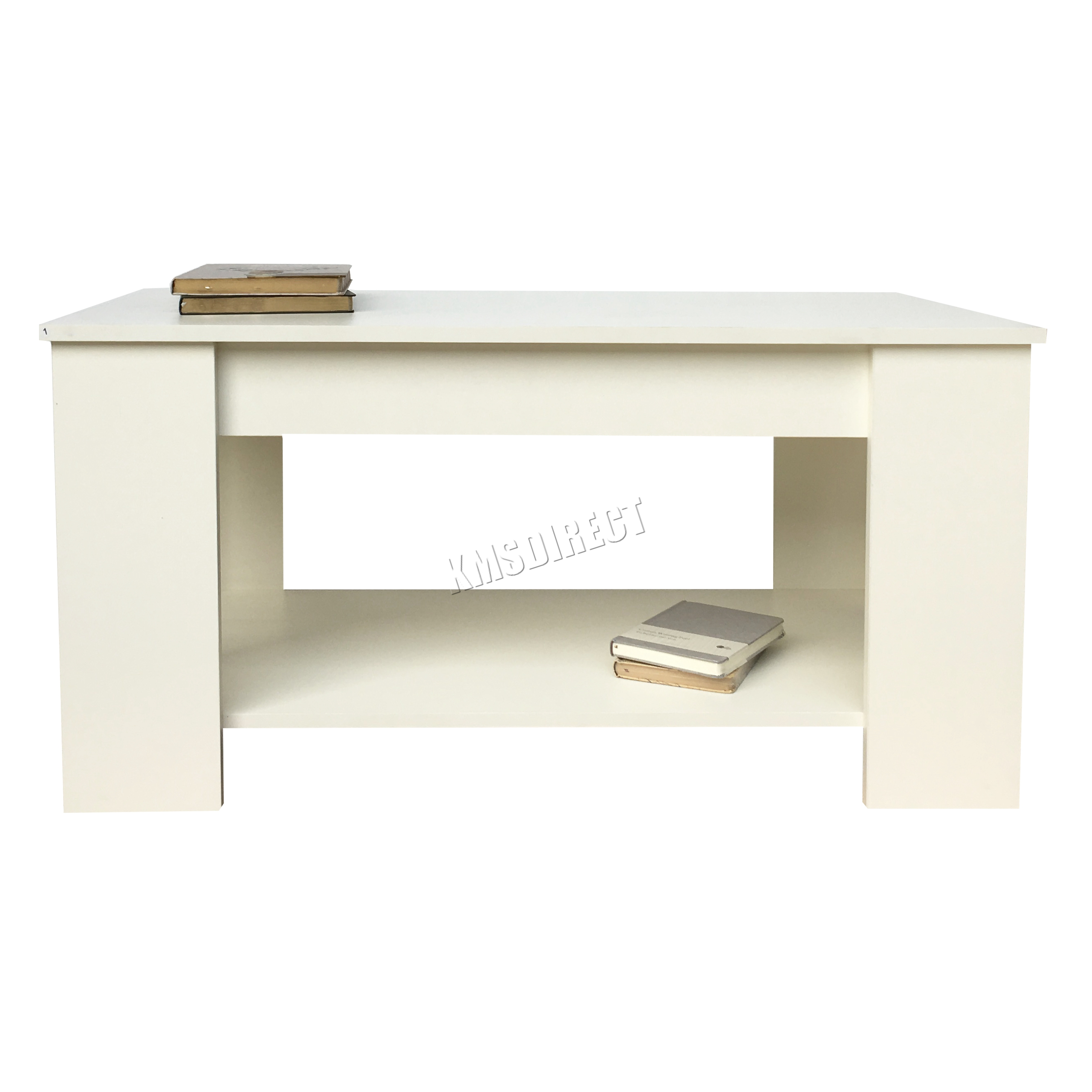Lift Top Coffee Table Ikea Uk: FoxHunter Lift Up Top Coffee Table MDF With Storage And