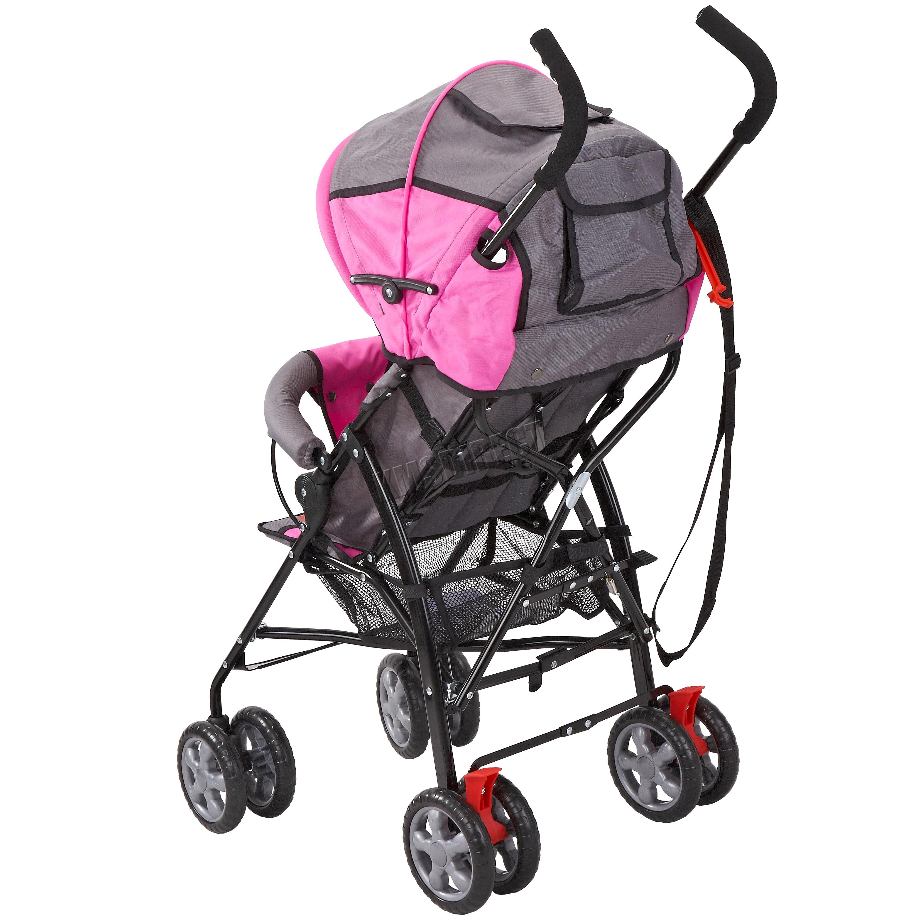 foxhunter baby infant toddler single stroller pushchair pram buggy