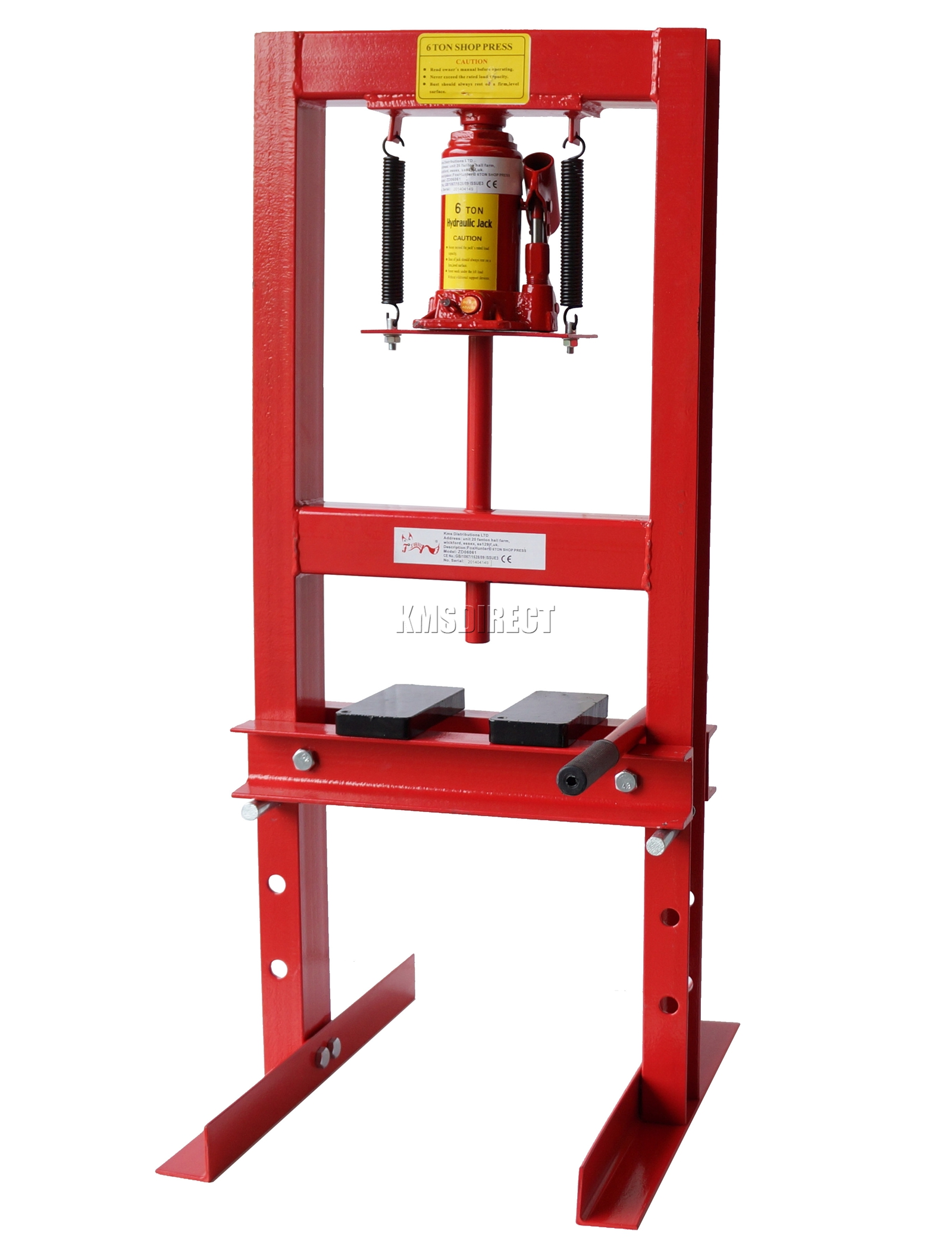 6 Ton Industrial Hydraulic Workshop Garage Shop Press Ebay
