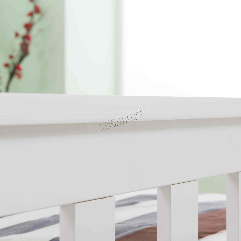 Pine Bedroom Stools Foxhunter 3ft Single Wooden Bed Frame Pine Bedroom Home Furniture