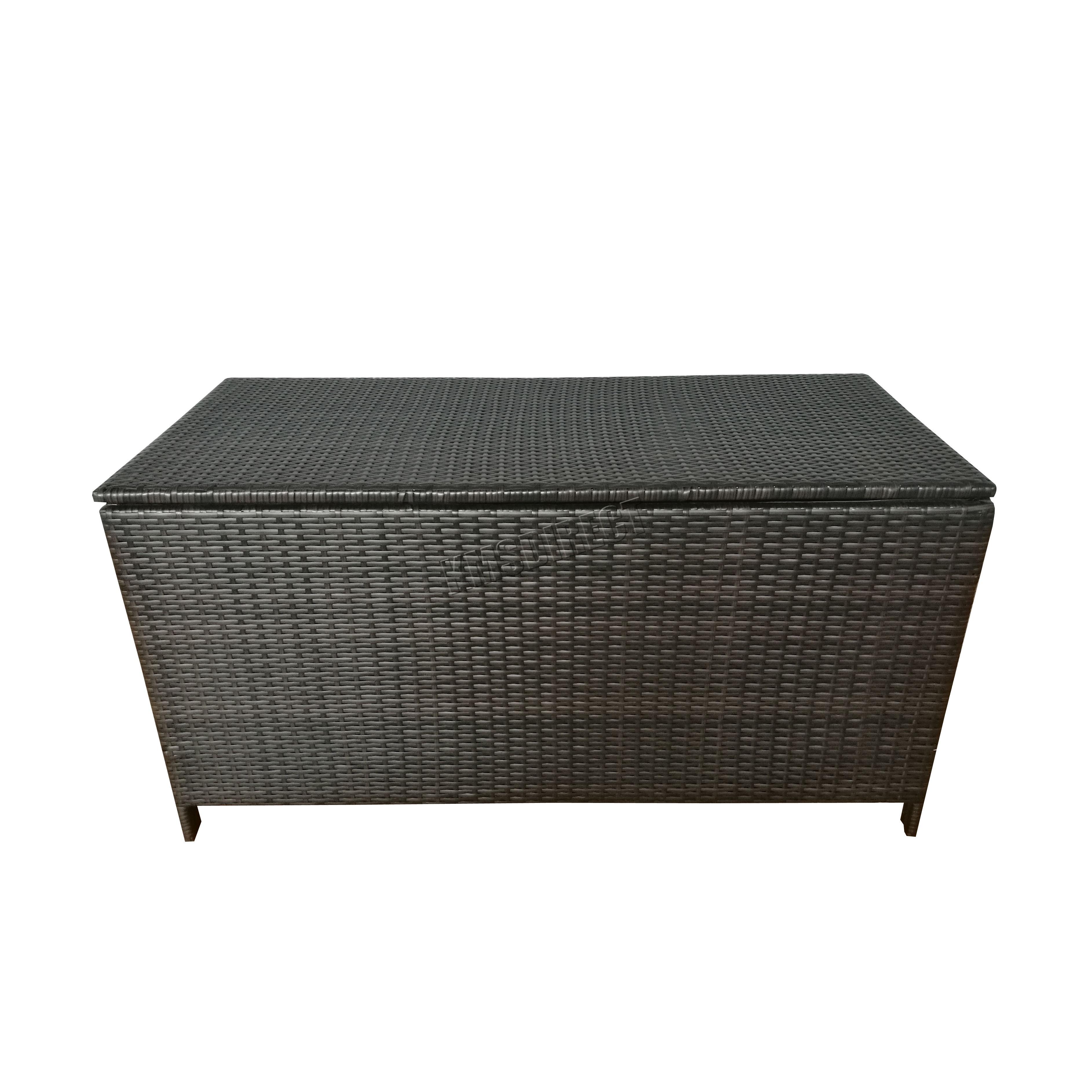 Foxhunter Garden Furniture Rattan Storage Box Woven Patio Outdoor Pe Rsb01 Brown Ebay