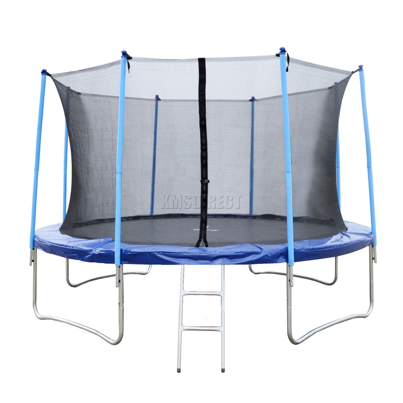 14ft Trampoline With Net Enclosure Ladder Cover 14 Ft Ebay