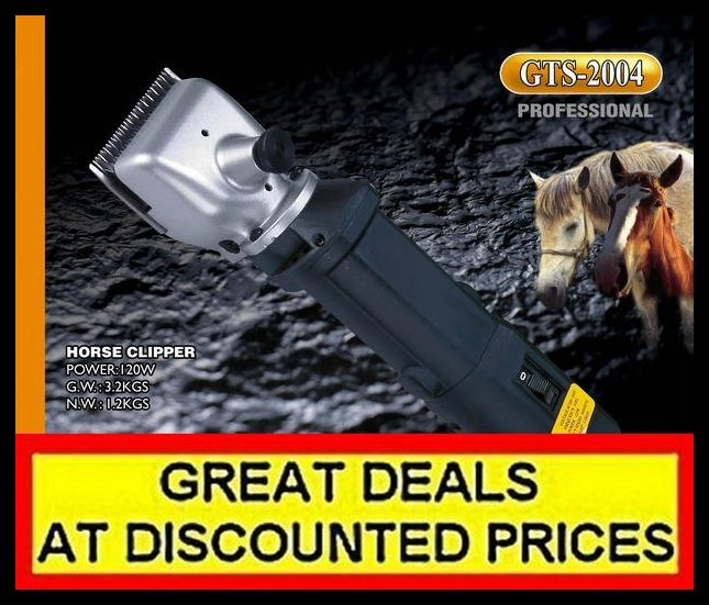 New Electric Heavy Duty Horse Cattle Clipper 120w Ebay