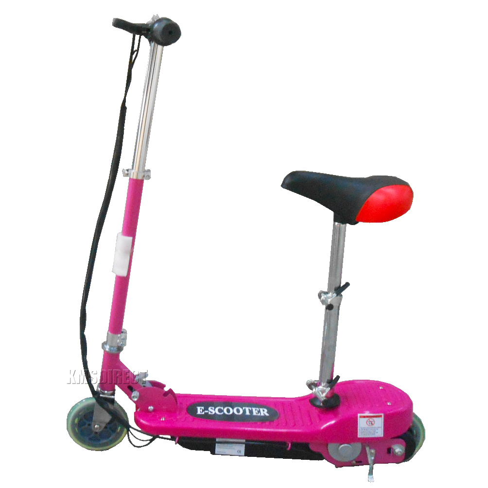 Motor scooters for kids in pink the for Motorized scooter for kids