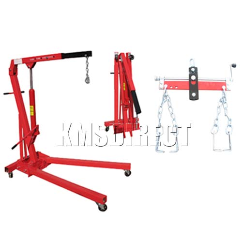 1 TON ENGINE HOIST CRANE & 750KG CHAIN LOAD LEVEL NEW