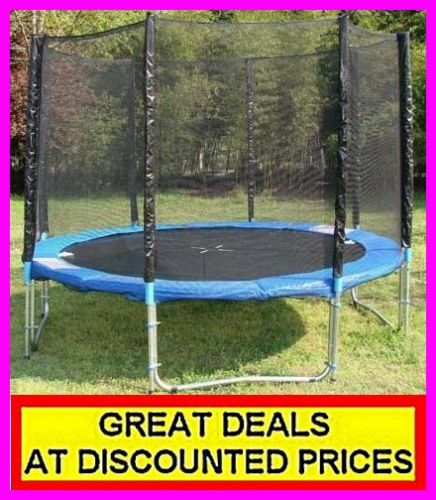 8ft Trampoline With Safety Net Ladder Cover EN-71 GS