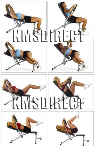 Ab King Pro Sit Up Bench Workout Shaper Exerciser For King