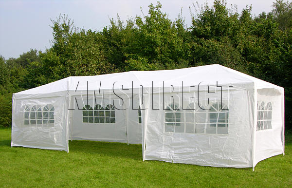 New 3m x 9m Wedding Party Tent Marquee Gazebo Canopy PE