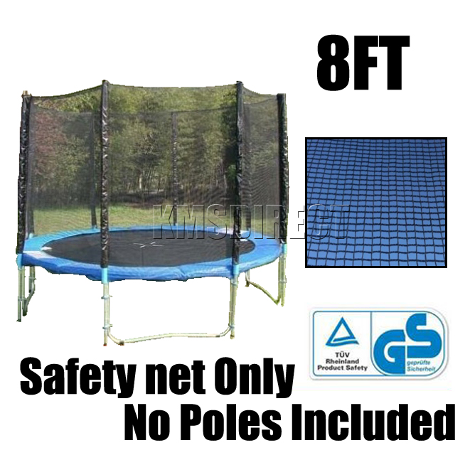 8FT Trampoline Safety Enclosure Net Only 8 FT Netting
