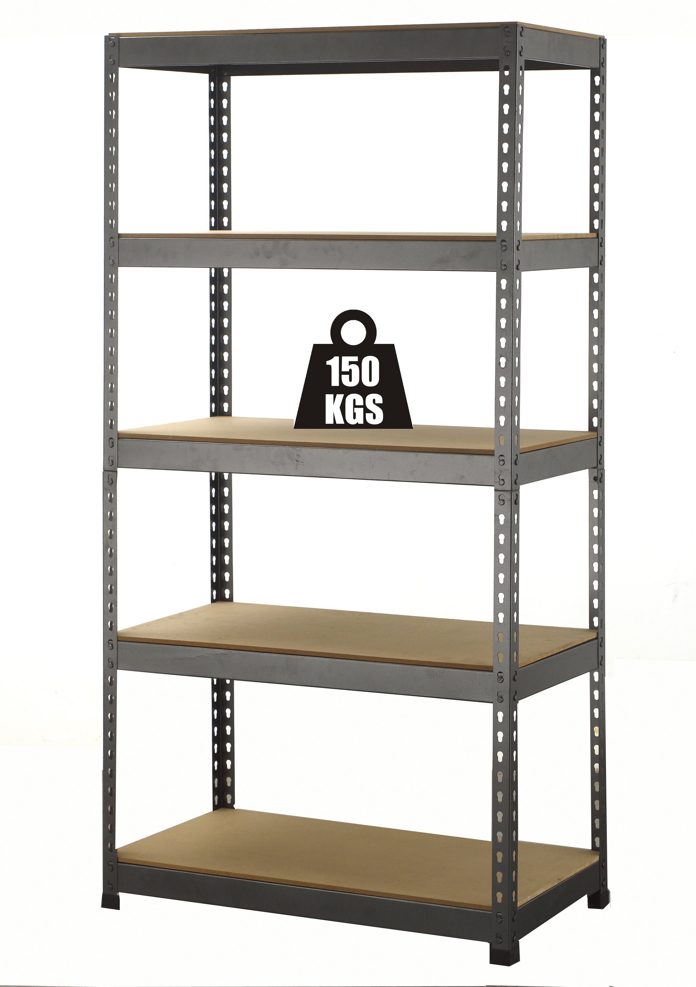 FoxHunter NEW SHELVING Garage Storage Shelves Warehouse