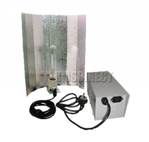 600W Ballast Sodium Lamp Reflector Light Kits Grow Tent