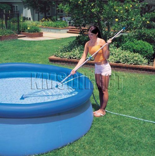 15ft dia x 48in deep intex easy set up swim pool extras ebay. Black Bedroom Furniture Sets. Home Design Ideas