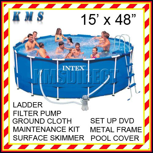 About Intex 15 X 48 Pool Liner What Do I Use To Repair