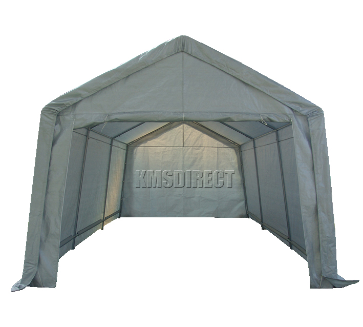 Foxhunter heavy duty 3m x 6m car port canopy cover - How to make a gazebo cover ...