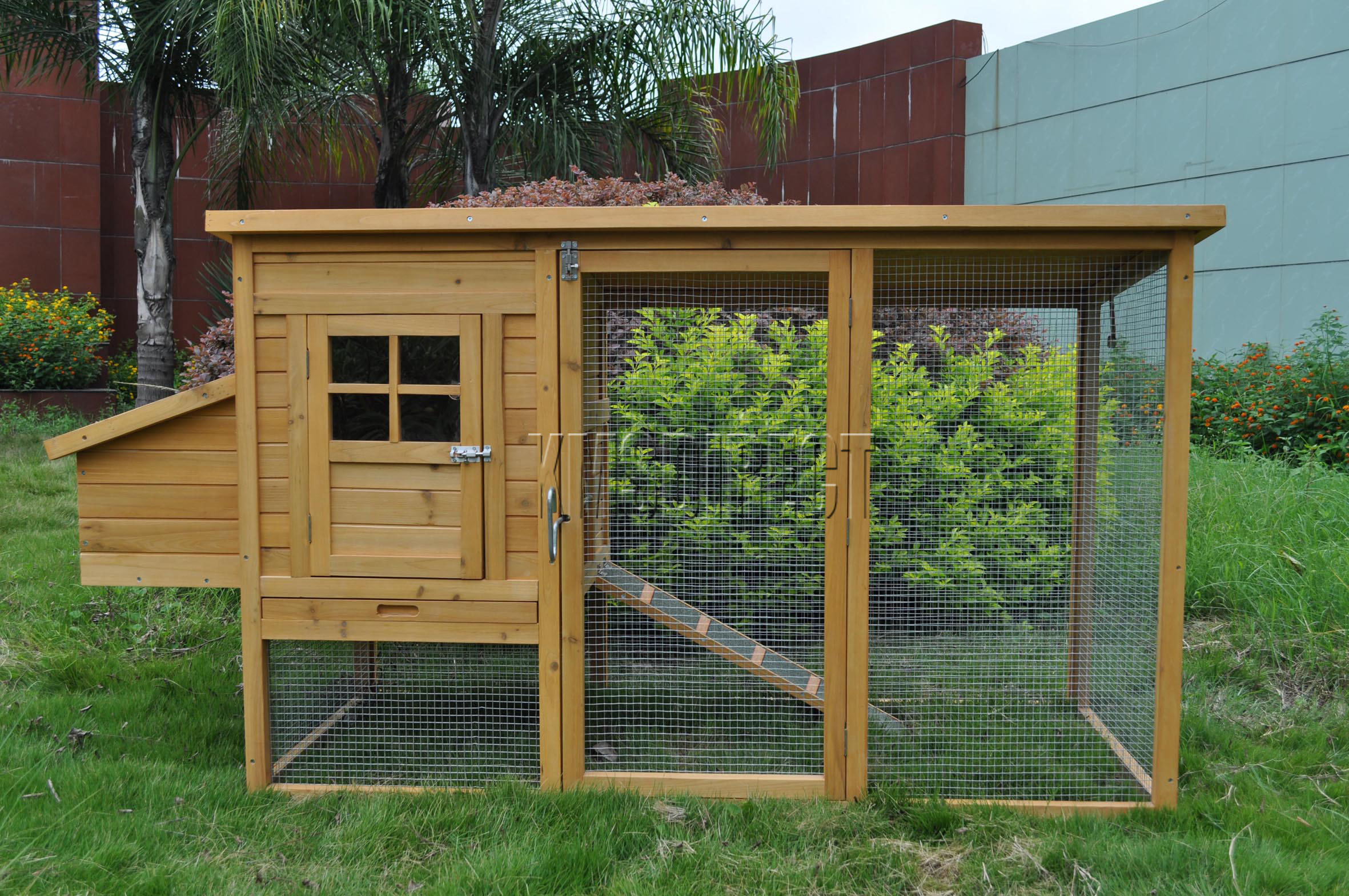Wooden Chicken Coop Poultry House Hen Ark amp Run : chickencoopDXH011KMSWM08 from www.ebay.co.uk size 2362 x 1569 jpeg 784kB