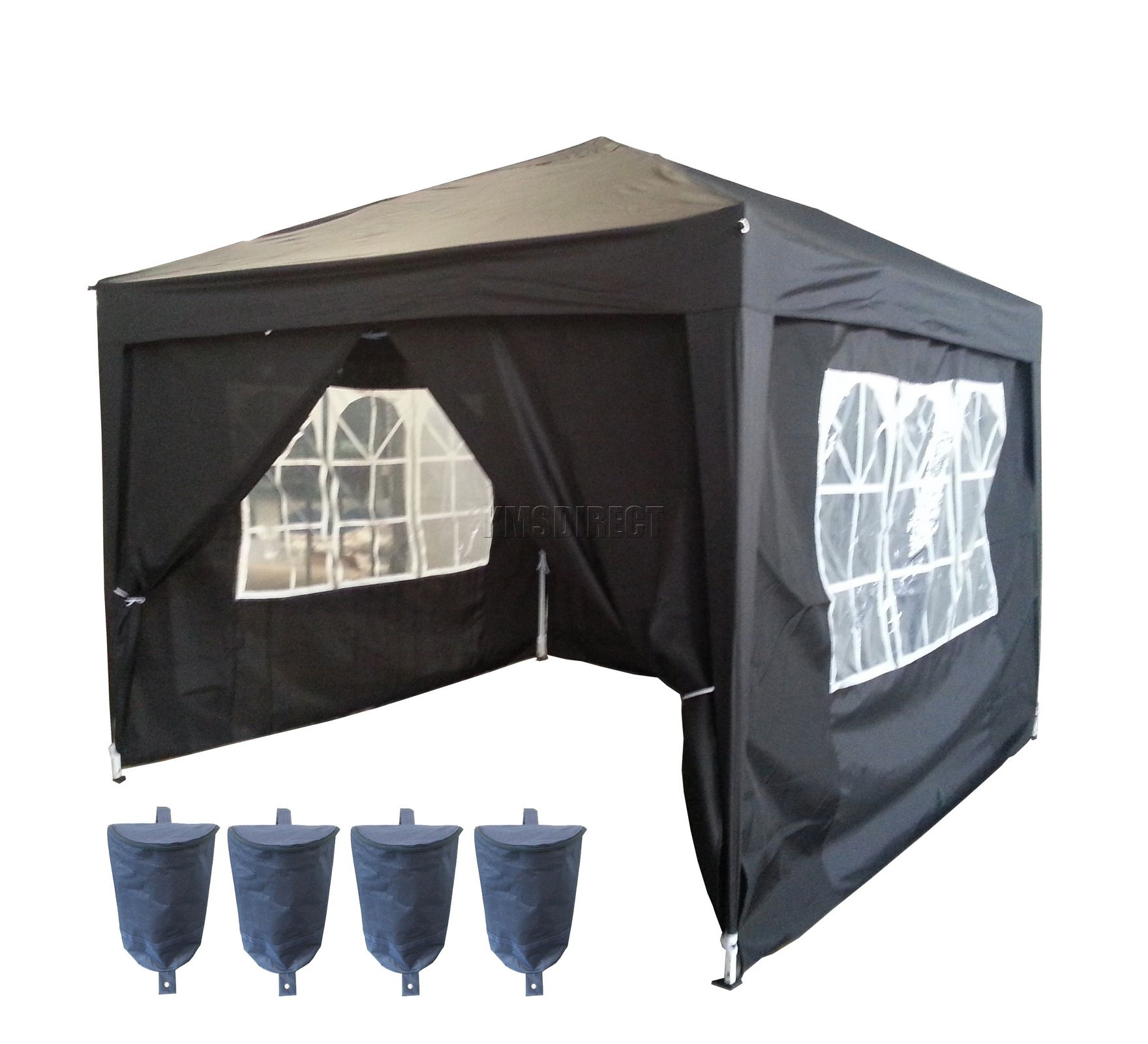 3m X 3m Pop Up Gazebo Waterproof Canopy Awning Marquee